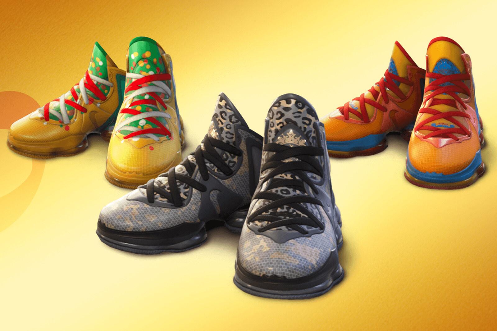 Nike LeBron 19 Fortnite