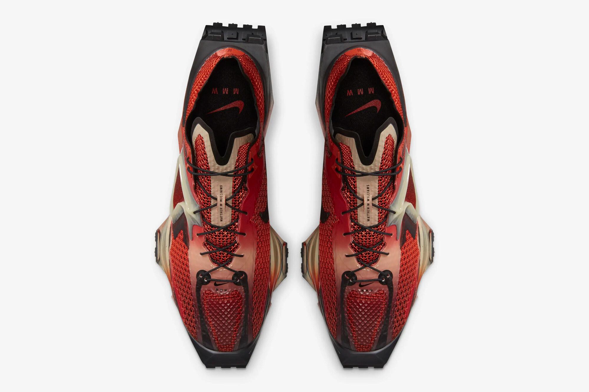 MMW x Nike Zoom 004 Rust Factor