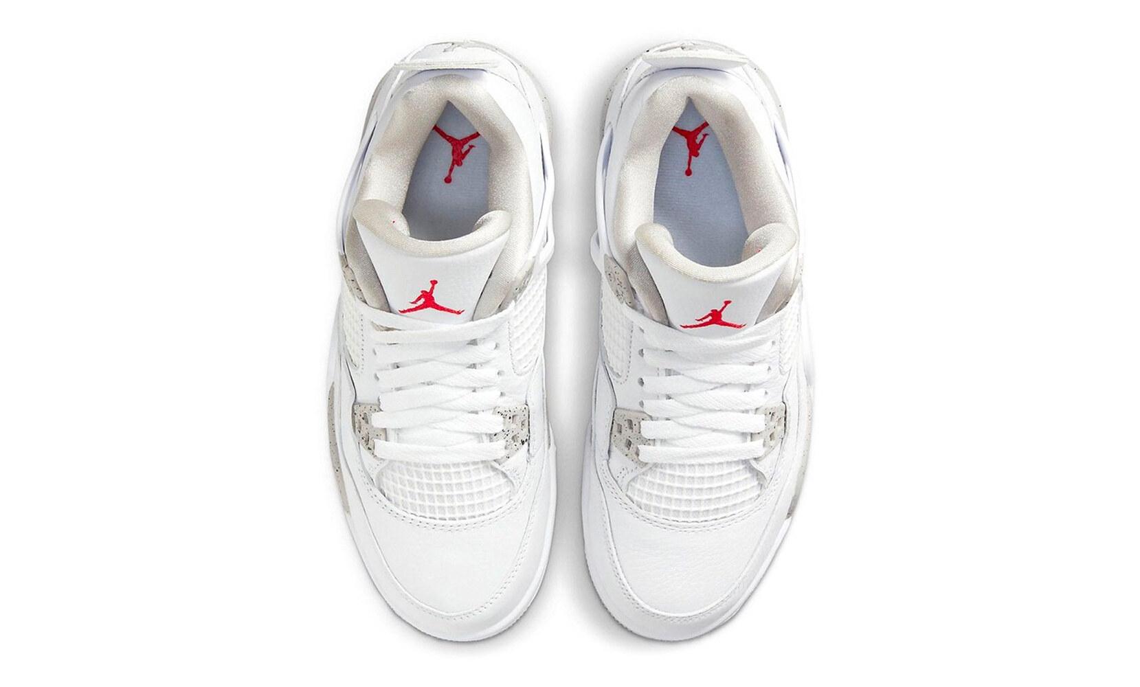 Air Jordan 4 u201cWhite /Tech Grayu201d