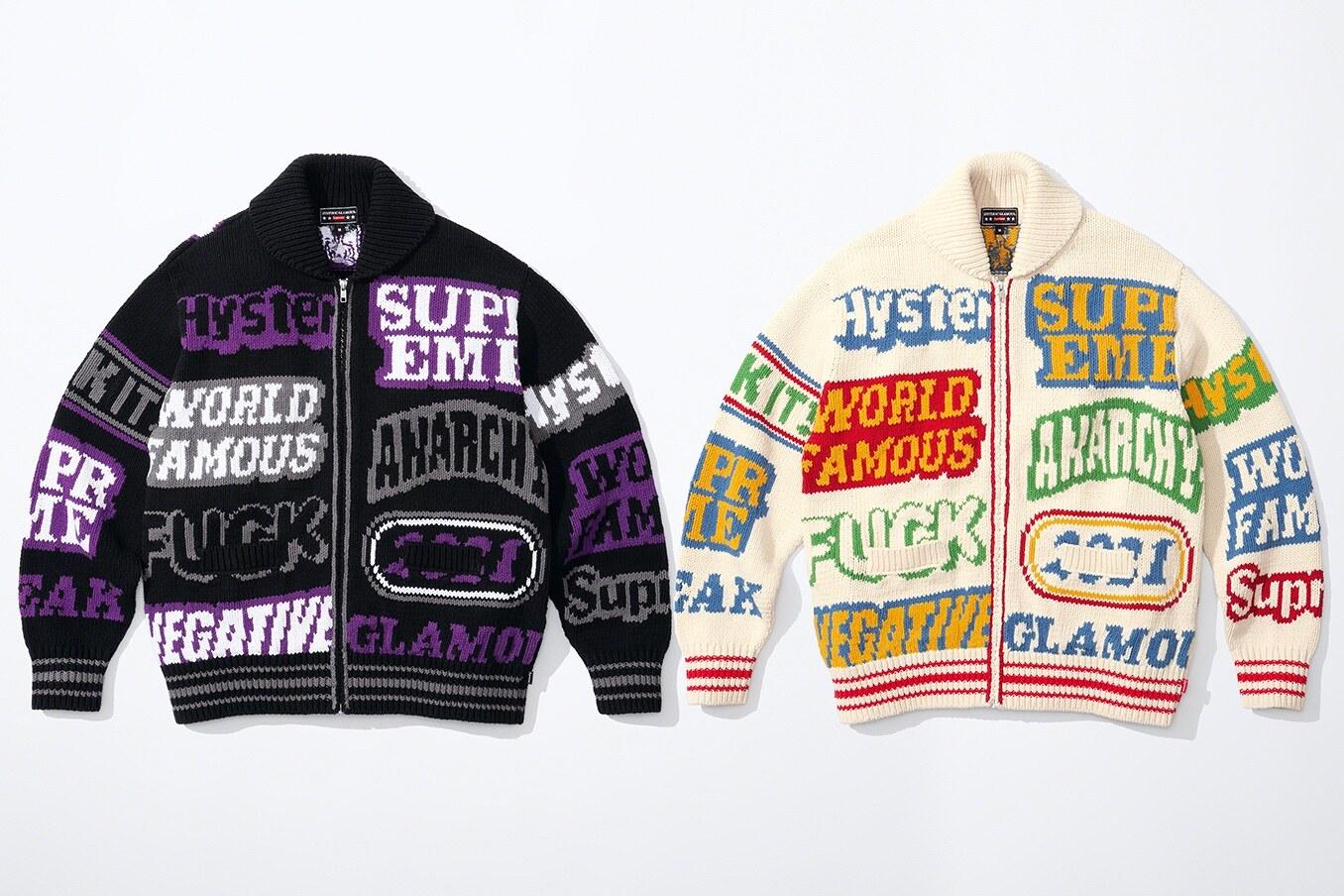 Supreme x hysteric glamour Jacket Artisanal Snake Print