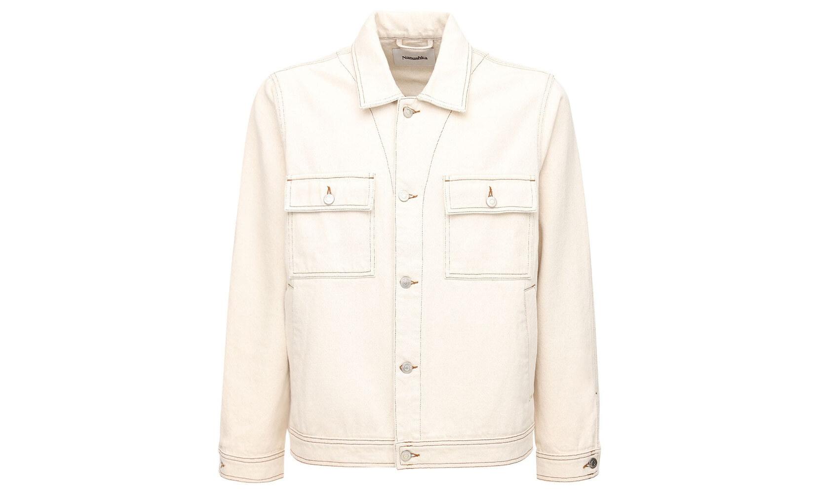 Nanushka PAX giacca in denim