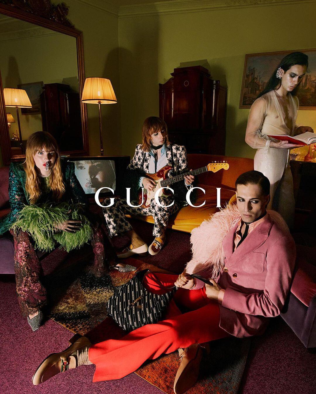 Maneskin Gucci Aria