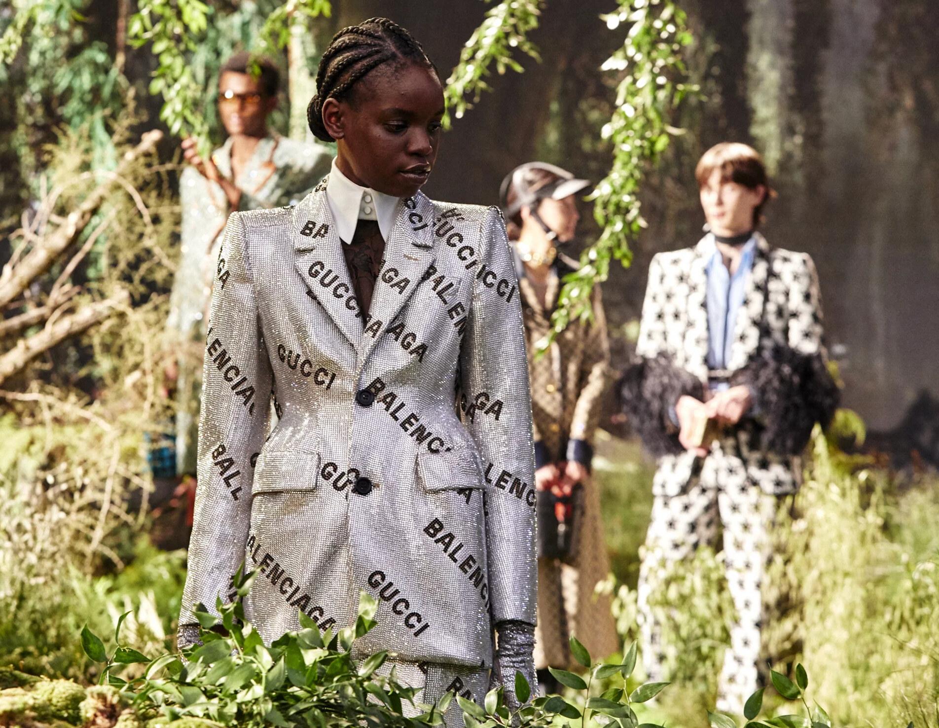 Gucci presenta NFT collaborazione Christie's