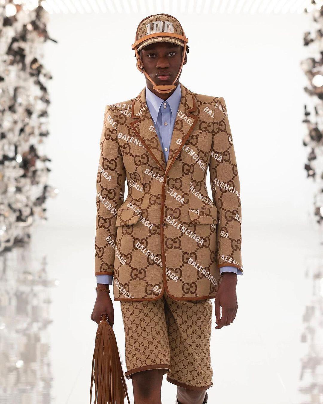 Gucci x Balenciaga collezione Aria
