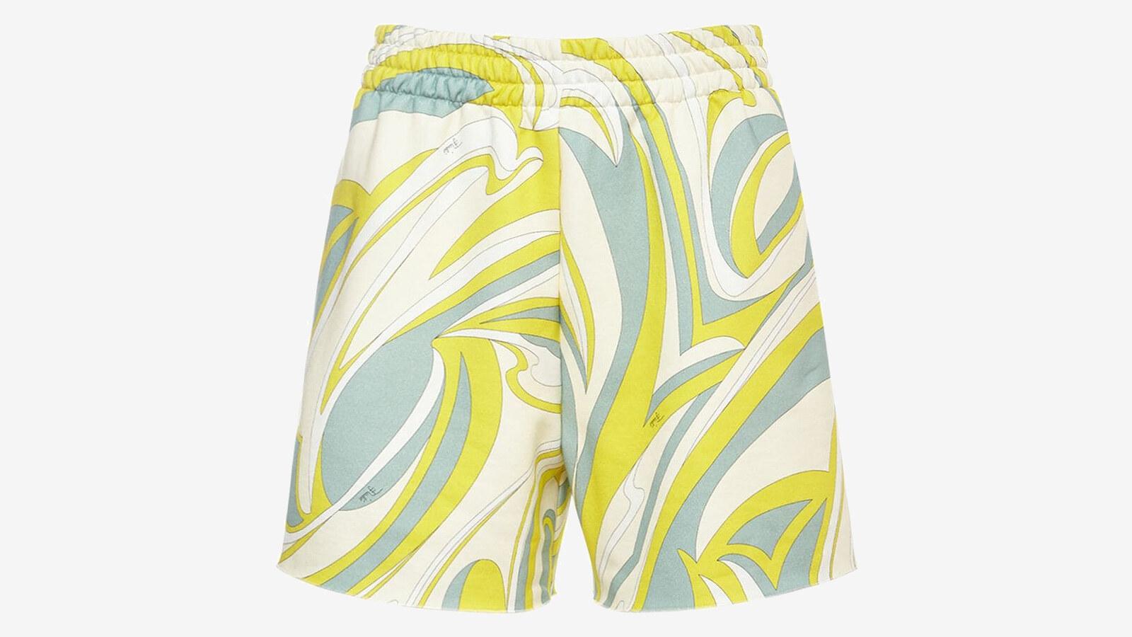 Emilio Pucci - shorts in jersey di cotone organico stampato