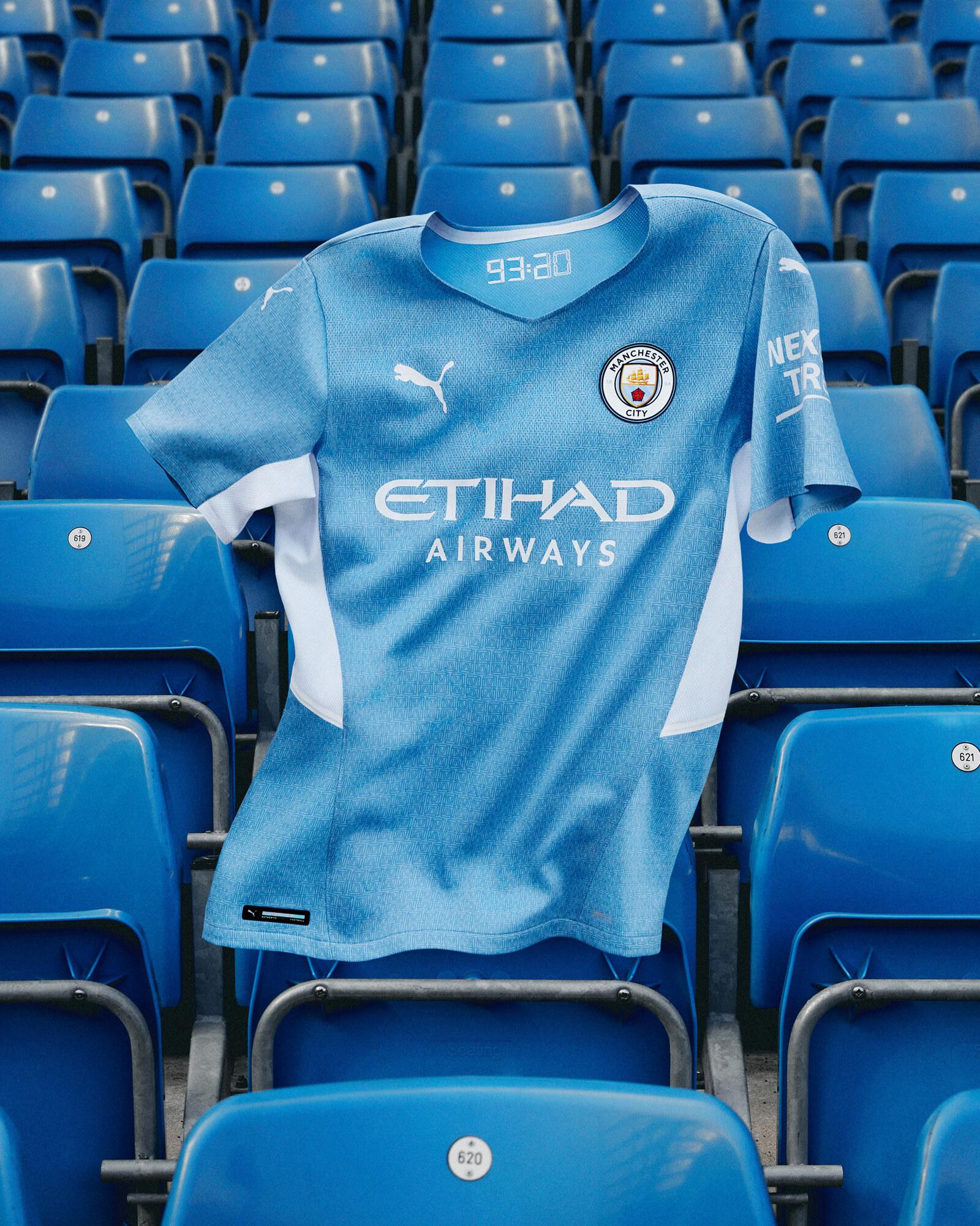 Manchester City Home Kit 2021-2022