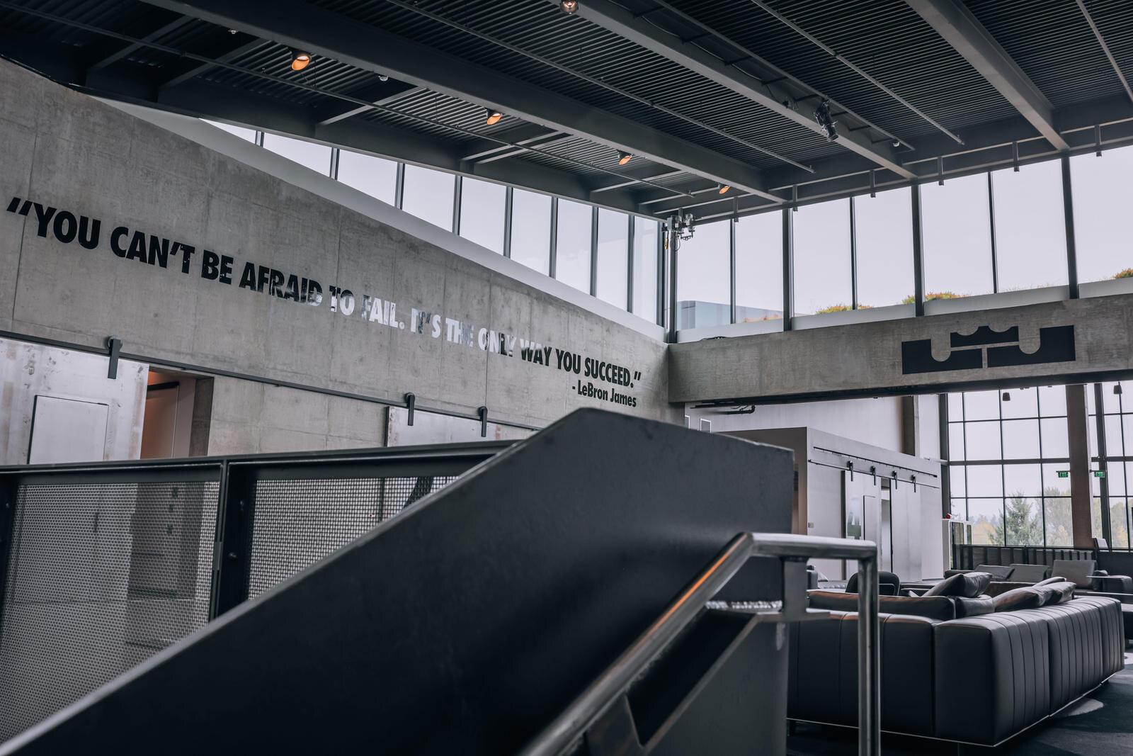Nike Innovation Center LeBron James