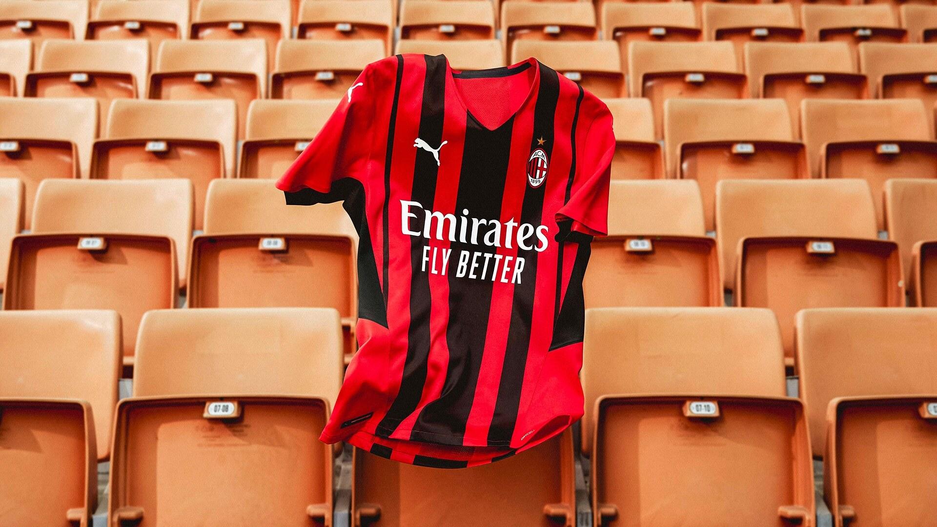 Milan x Puma Home Kit 2020-2021 maglia