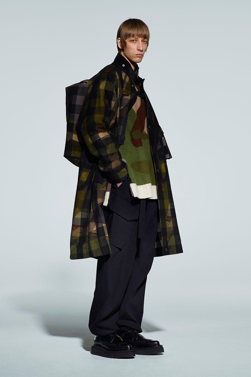 sacai KAWS Wearable art