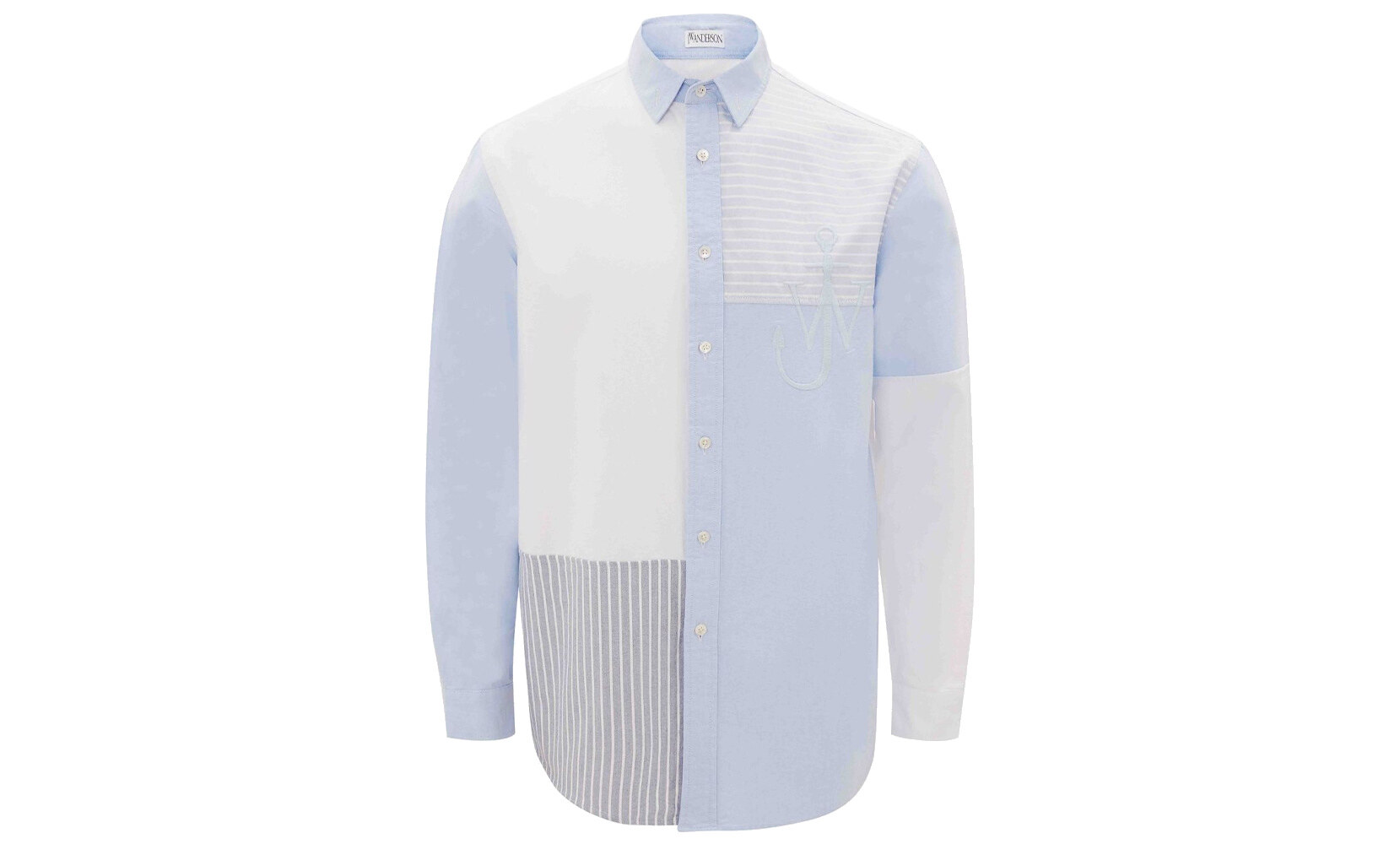 JW Anderson camicia patchwork