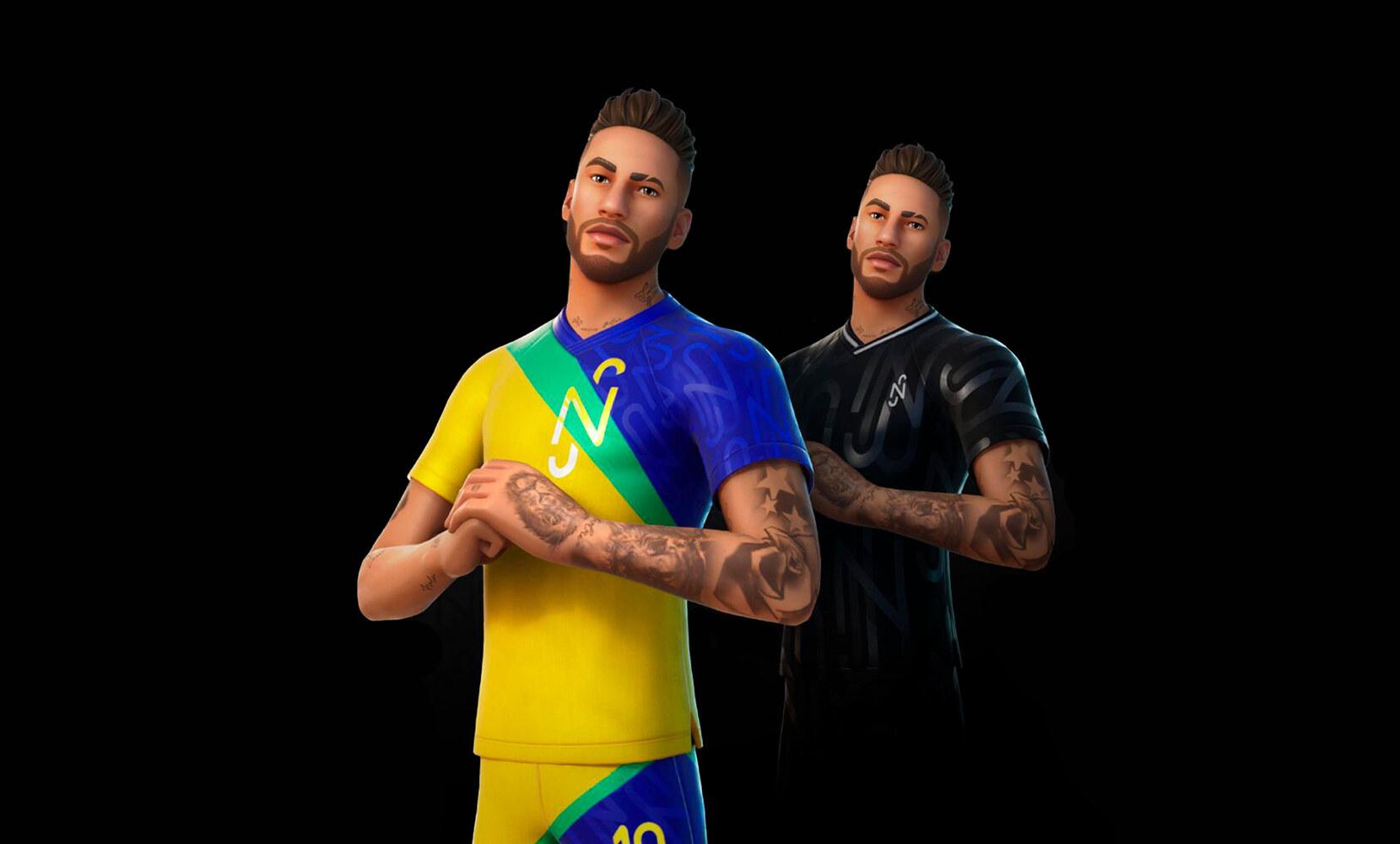 Neymar x Fortnite collaborazione