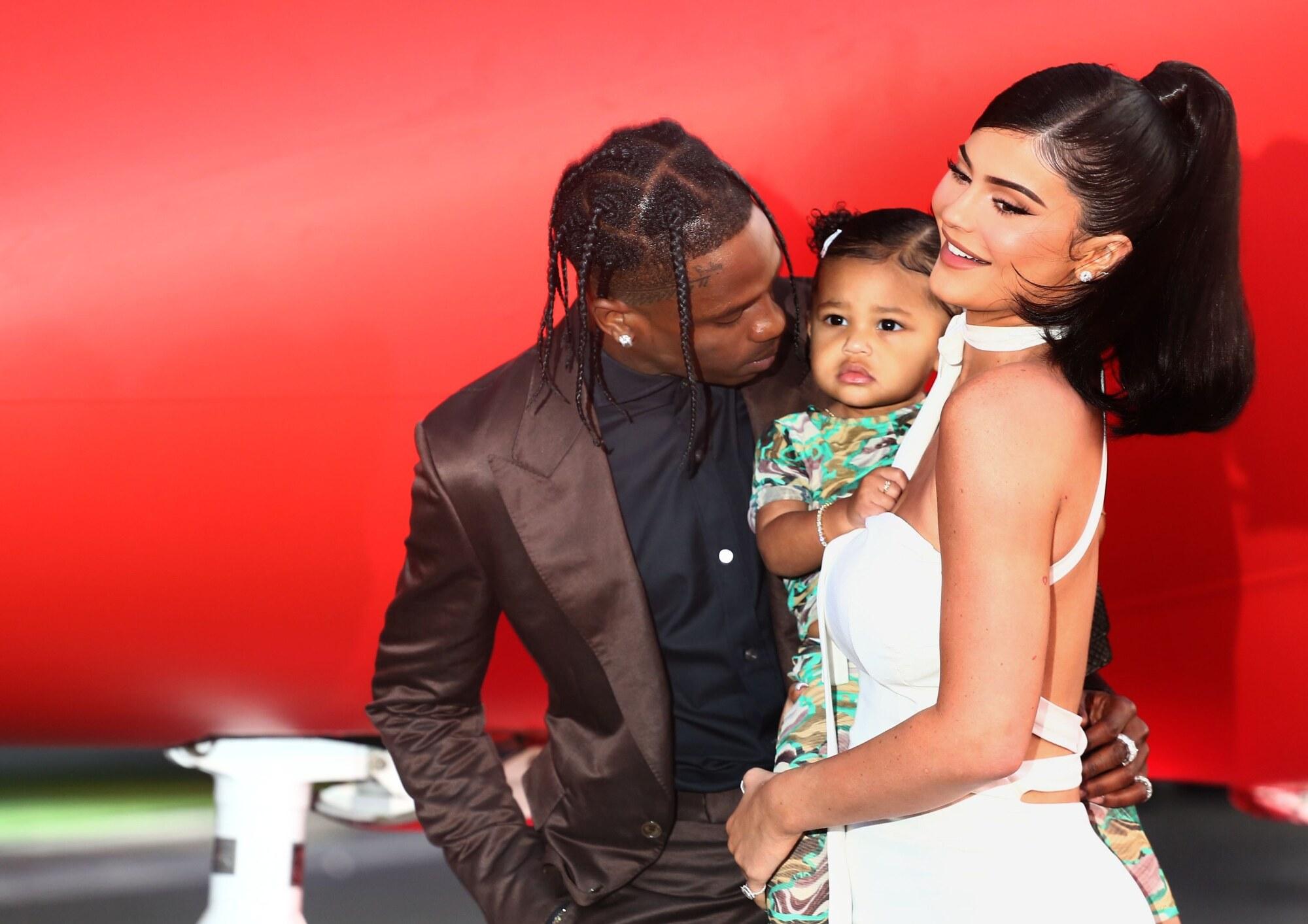 Kylie Jenner Travis Scott secondo figlio