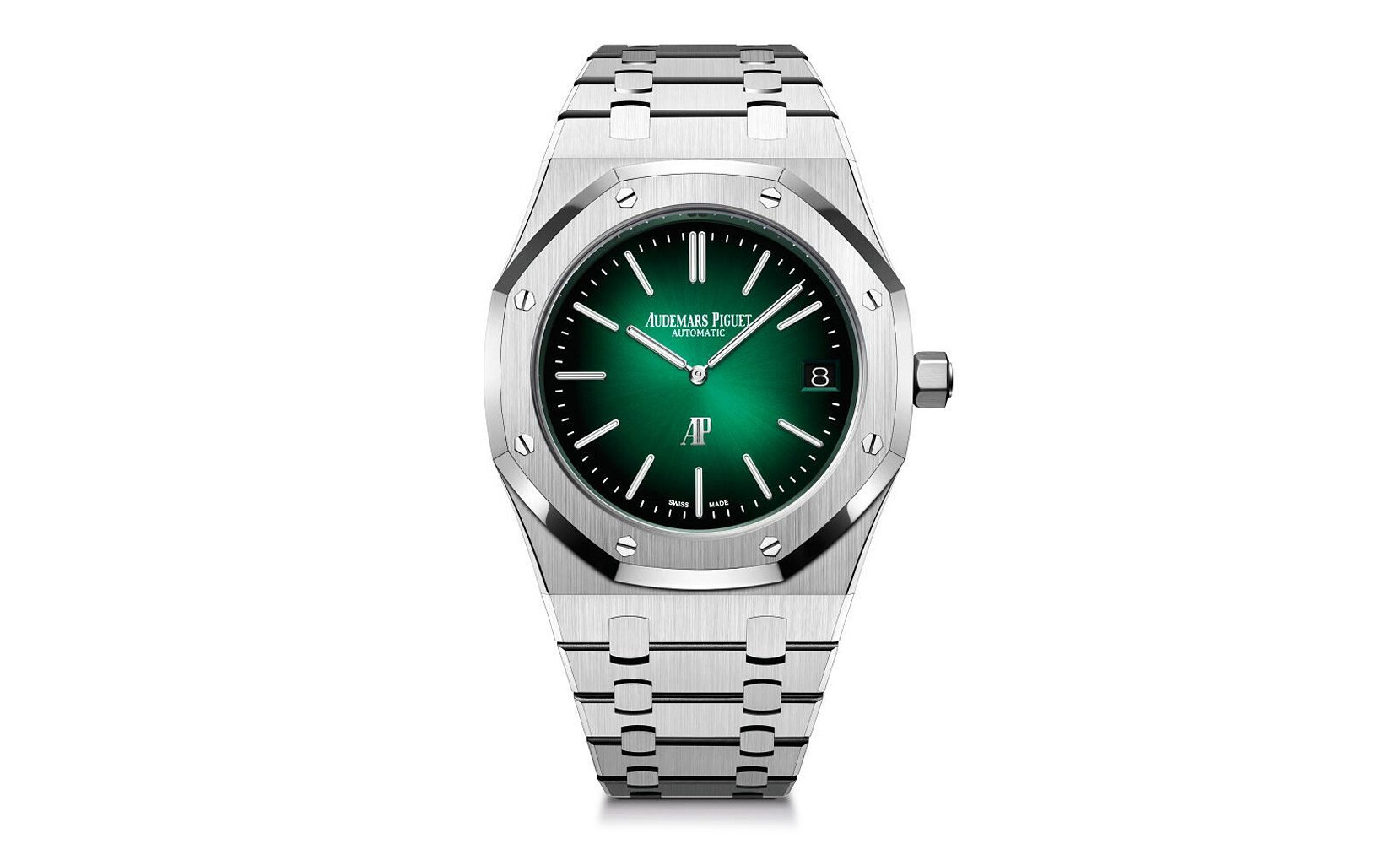 Audemars Piguet Royal Oak Jumbo Green Dial