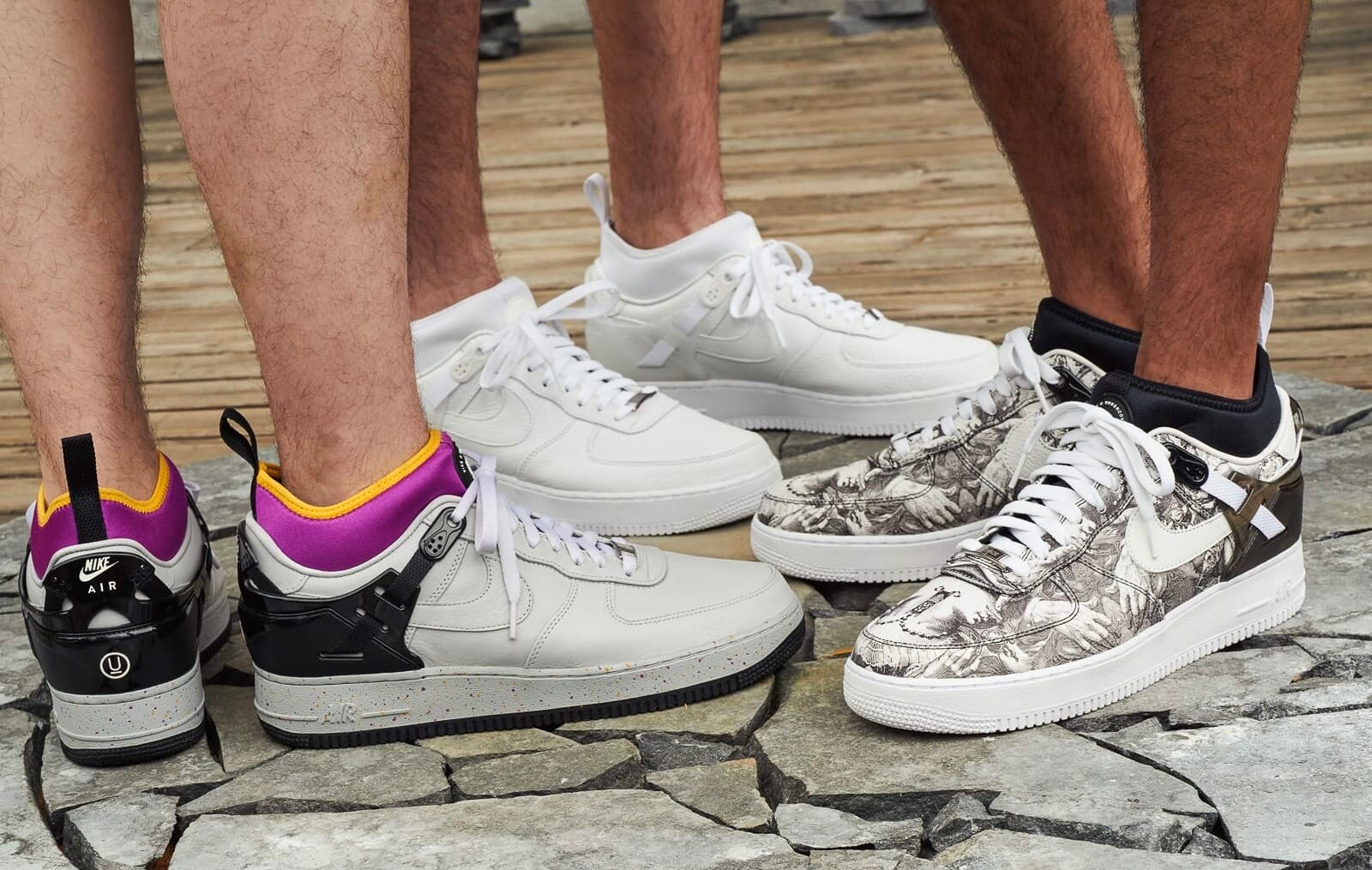 UNDERCOVER x Nike Air Force 1 Low SS21