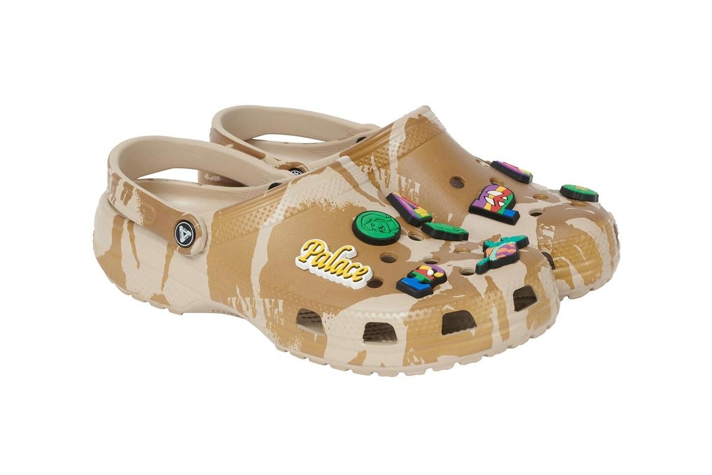 Palace x Crocs clog