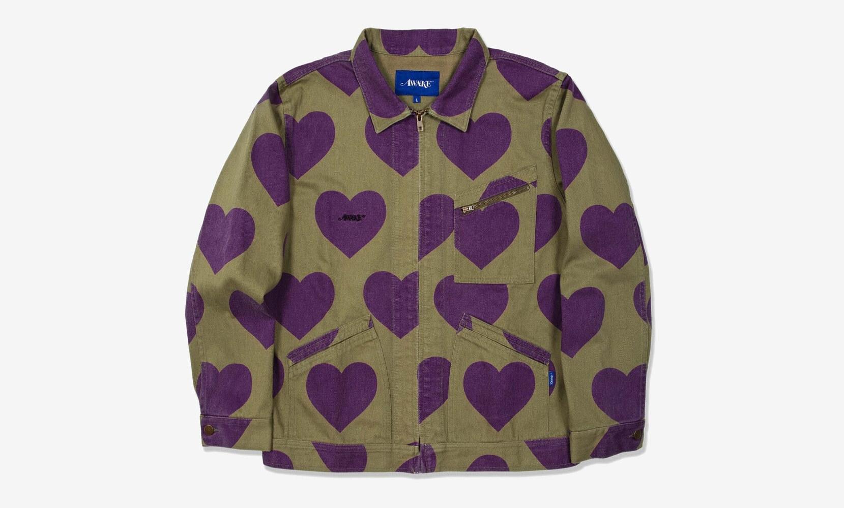 Hearts Harrington Jacket Awake NY