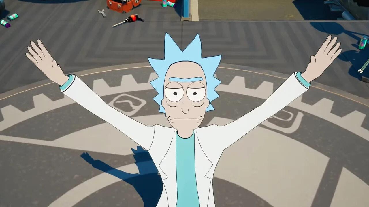Fortnite Rick and Morty skin