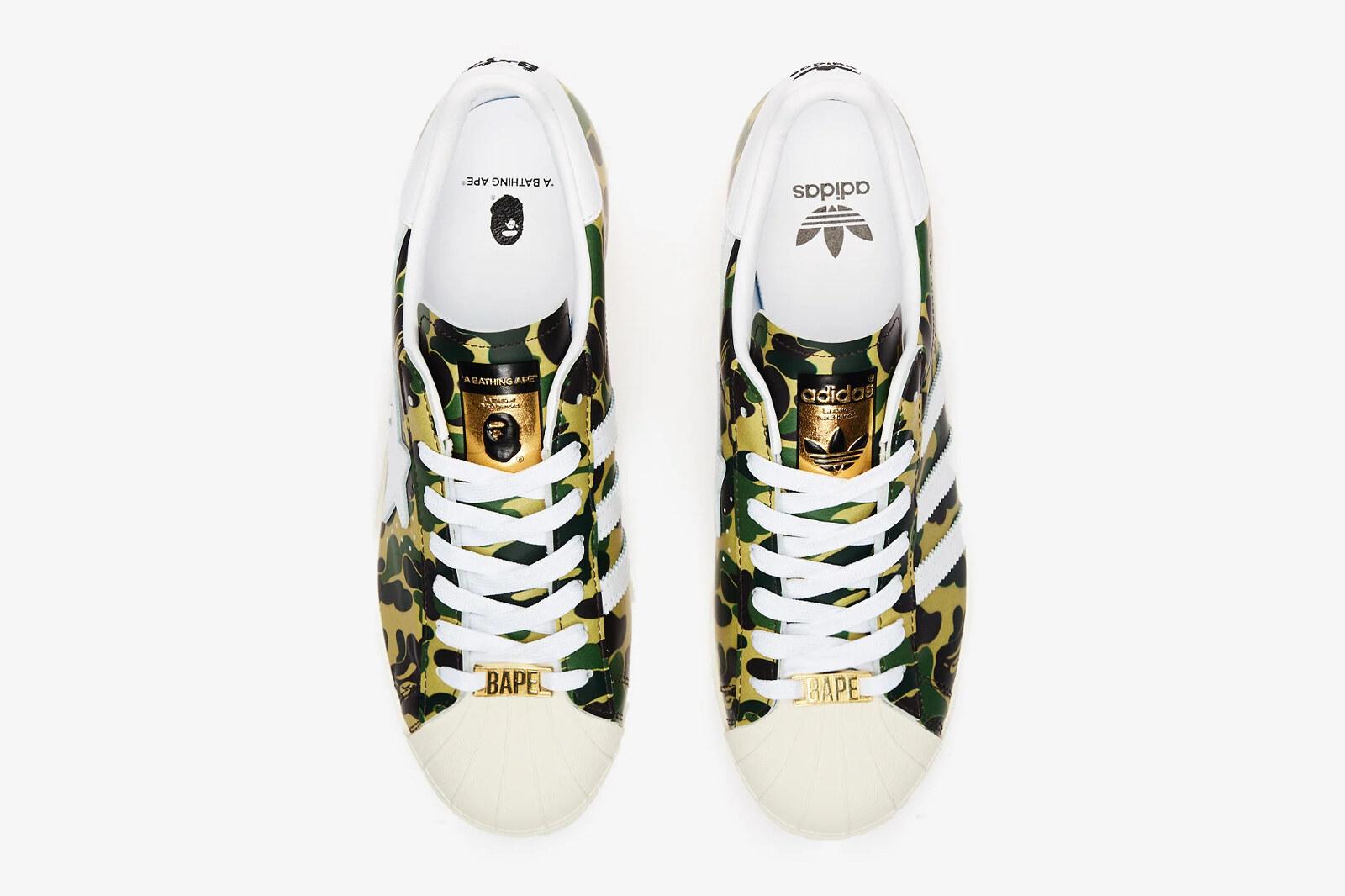 BAPE x adidas Superstar 80s