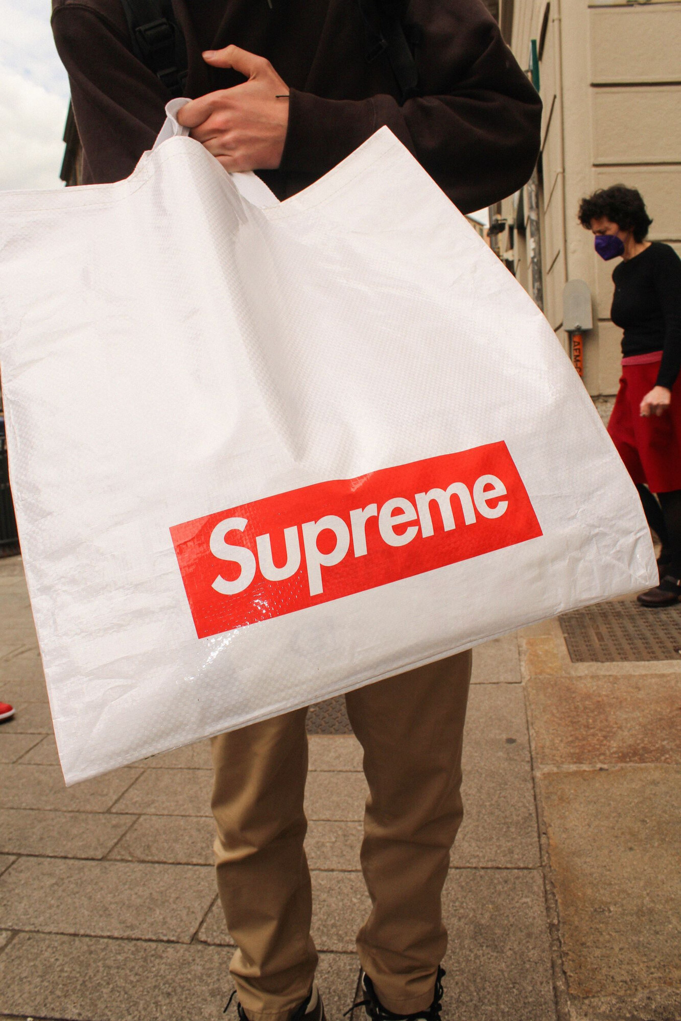 Supreme Store Milano Inaugurazione