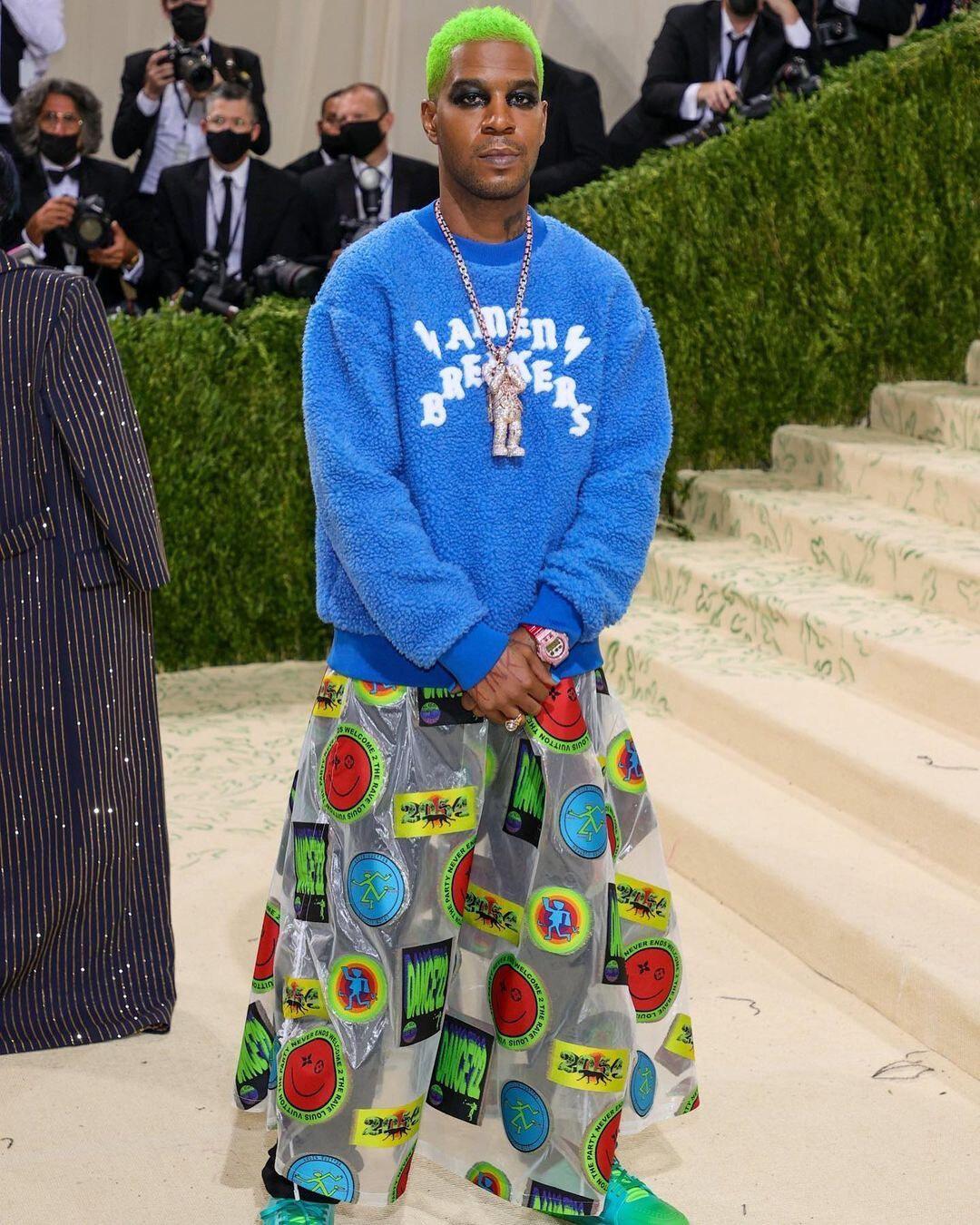 Kid Cudi Louis Vuitton Met Gala 2021