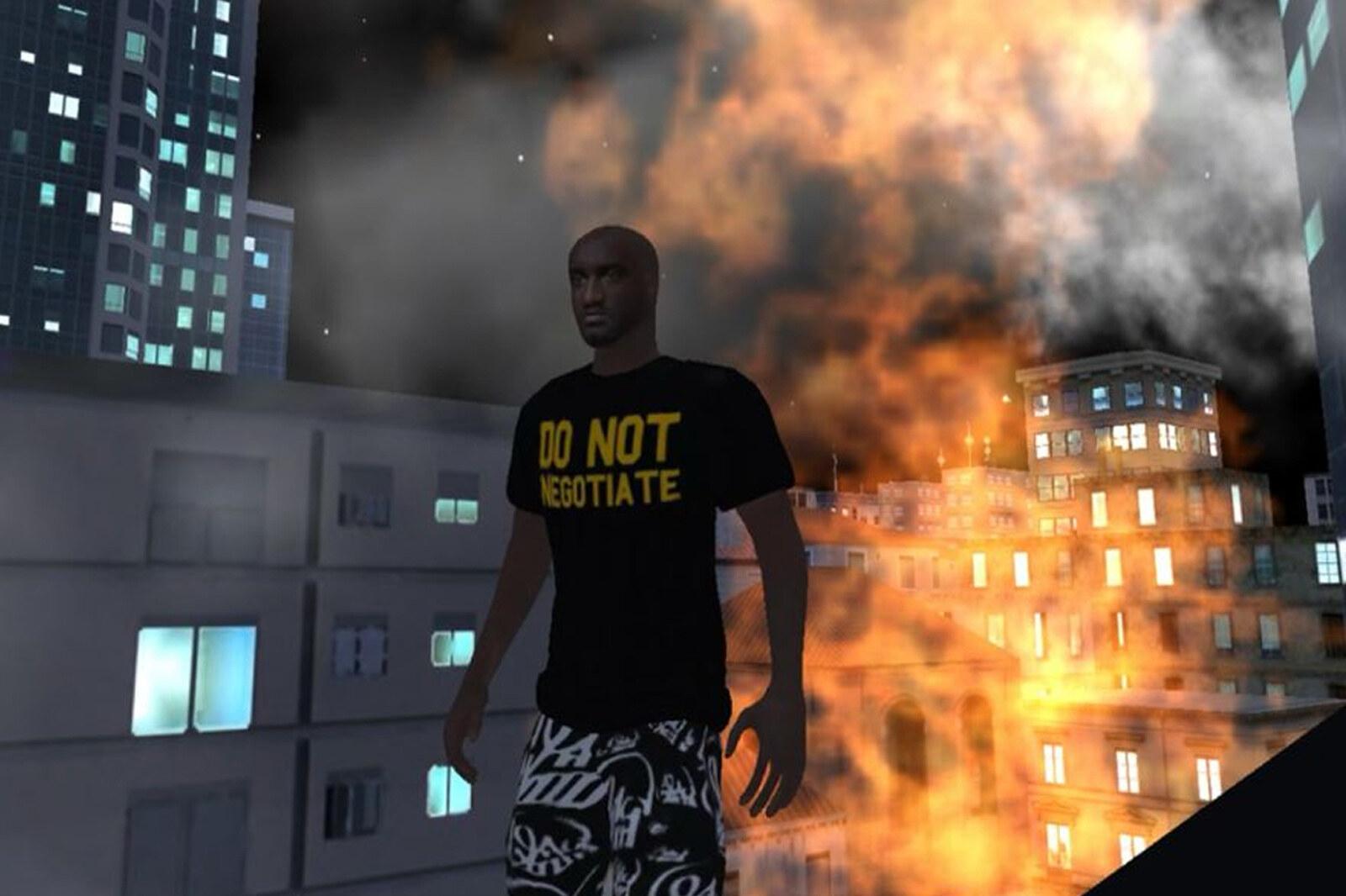 OFFKAT Virgil Abloh Videogame