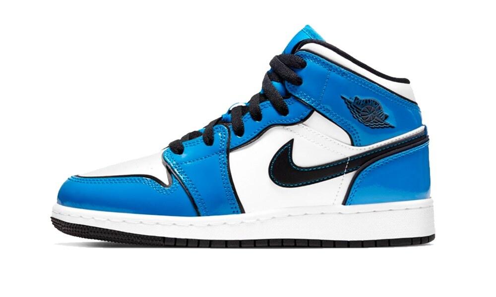 """Air Jordan 1 Mid """"Signal Blue"""""""