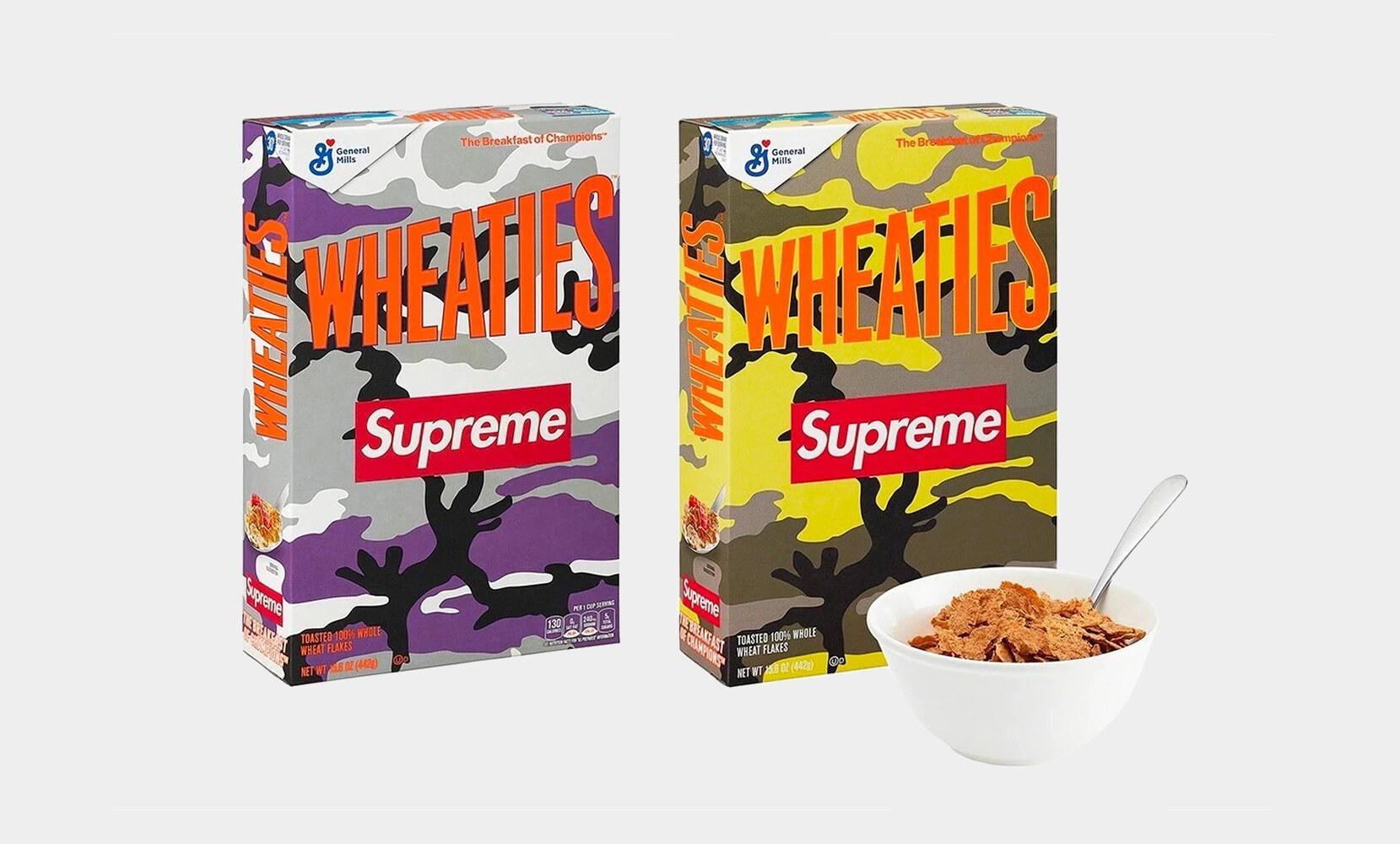 Supreme x Wheaties SS21