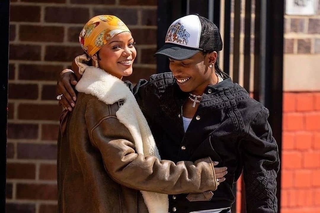 A$AP Rockyu00a0eu00a0Rihanna nEW yORK