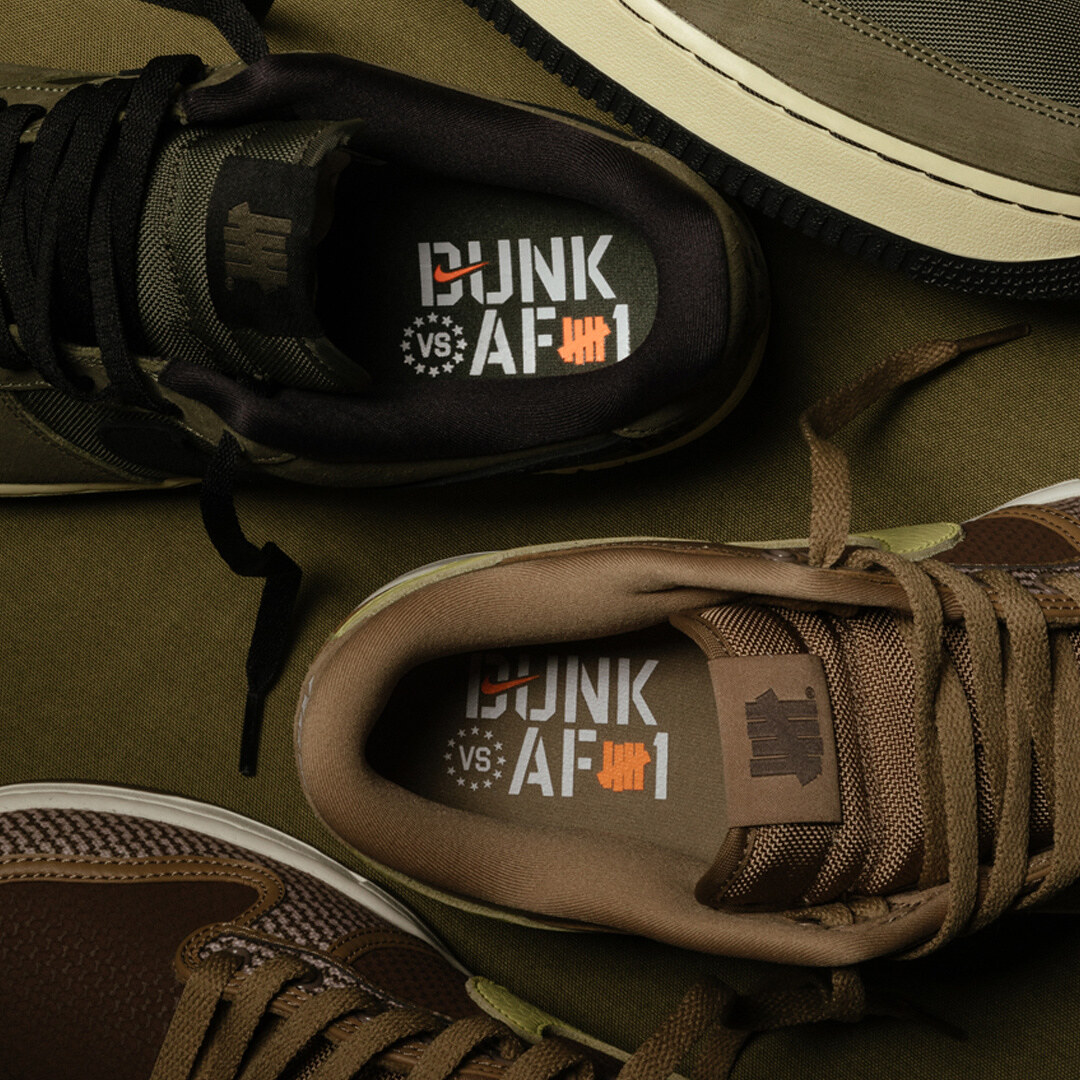 Nike x UNDEFEATED Dunk vs. AF-1 Pack