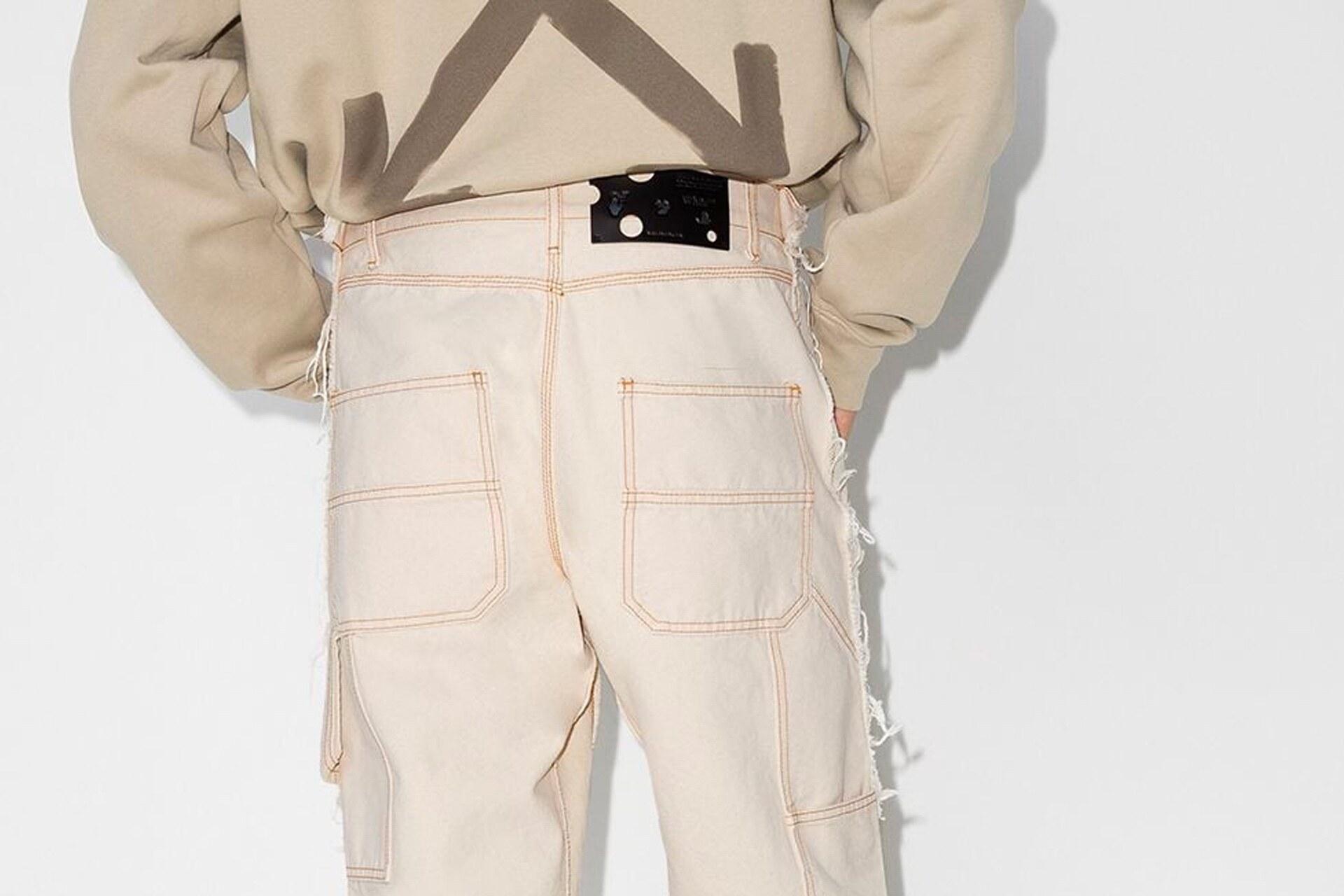 Off-White Ruimvallende broek
