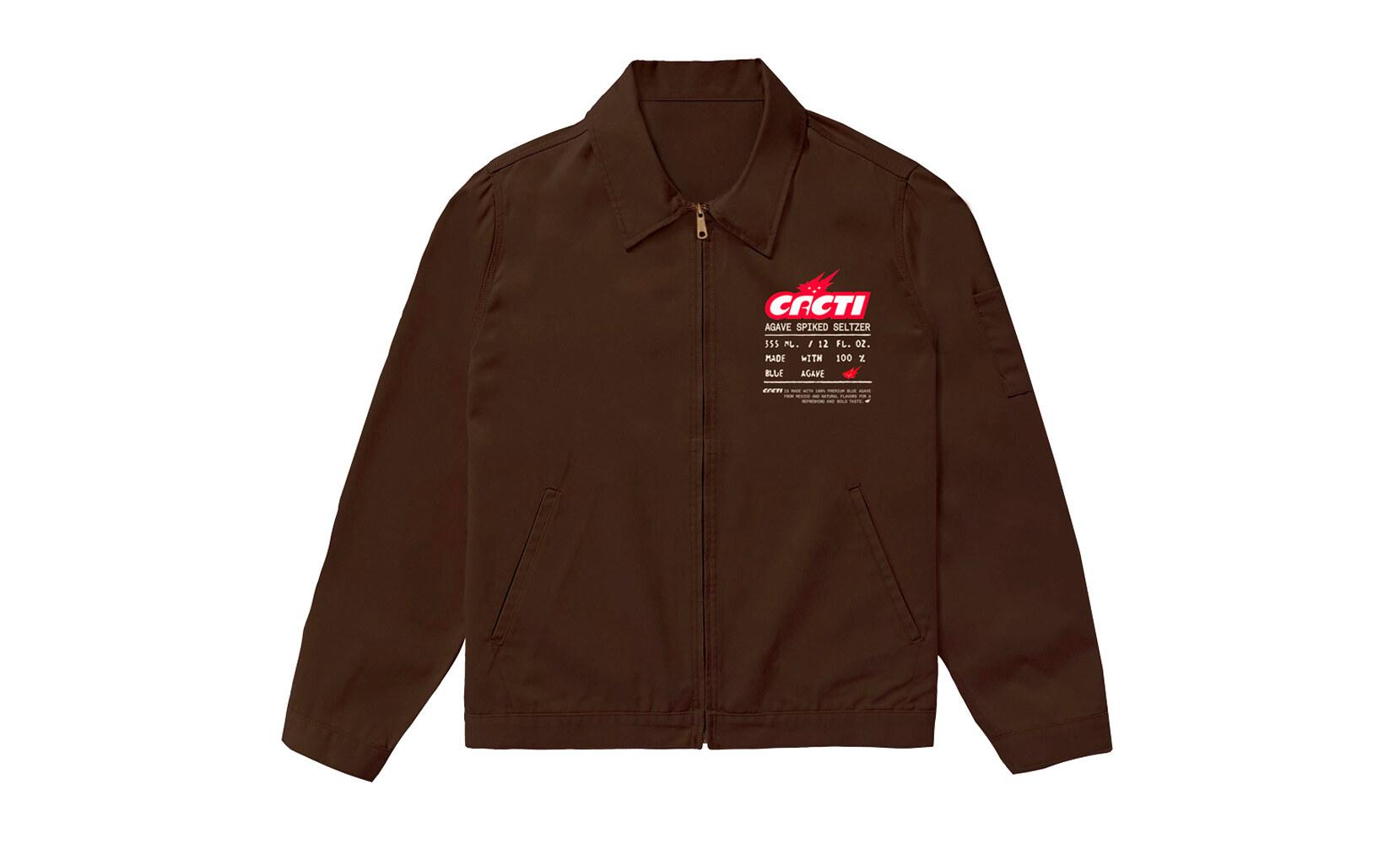 Travis Scott Cacti Merch work jacket