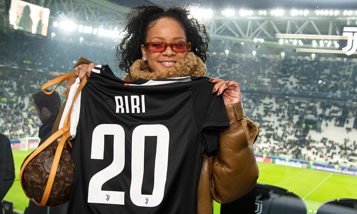 Rihanna RIRI 20 Juventus Champions League