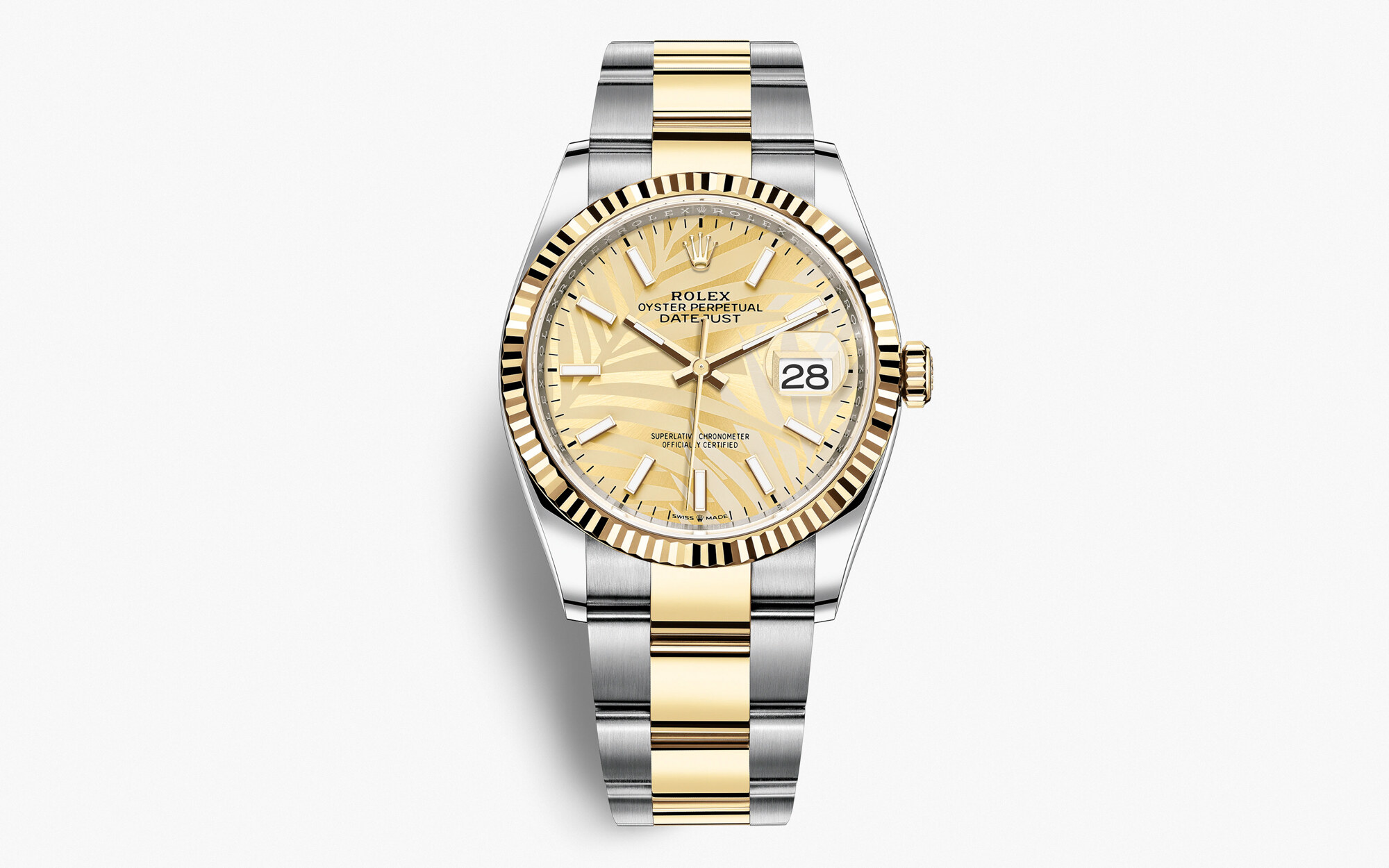 Rolex Datejust 36 2021 Oyster, 36 mm, acciaio Oystersteel