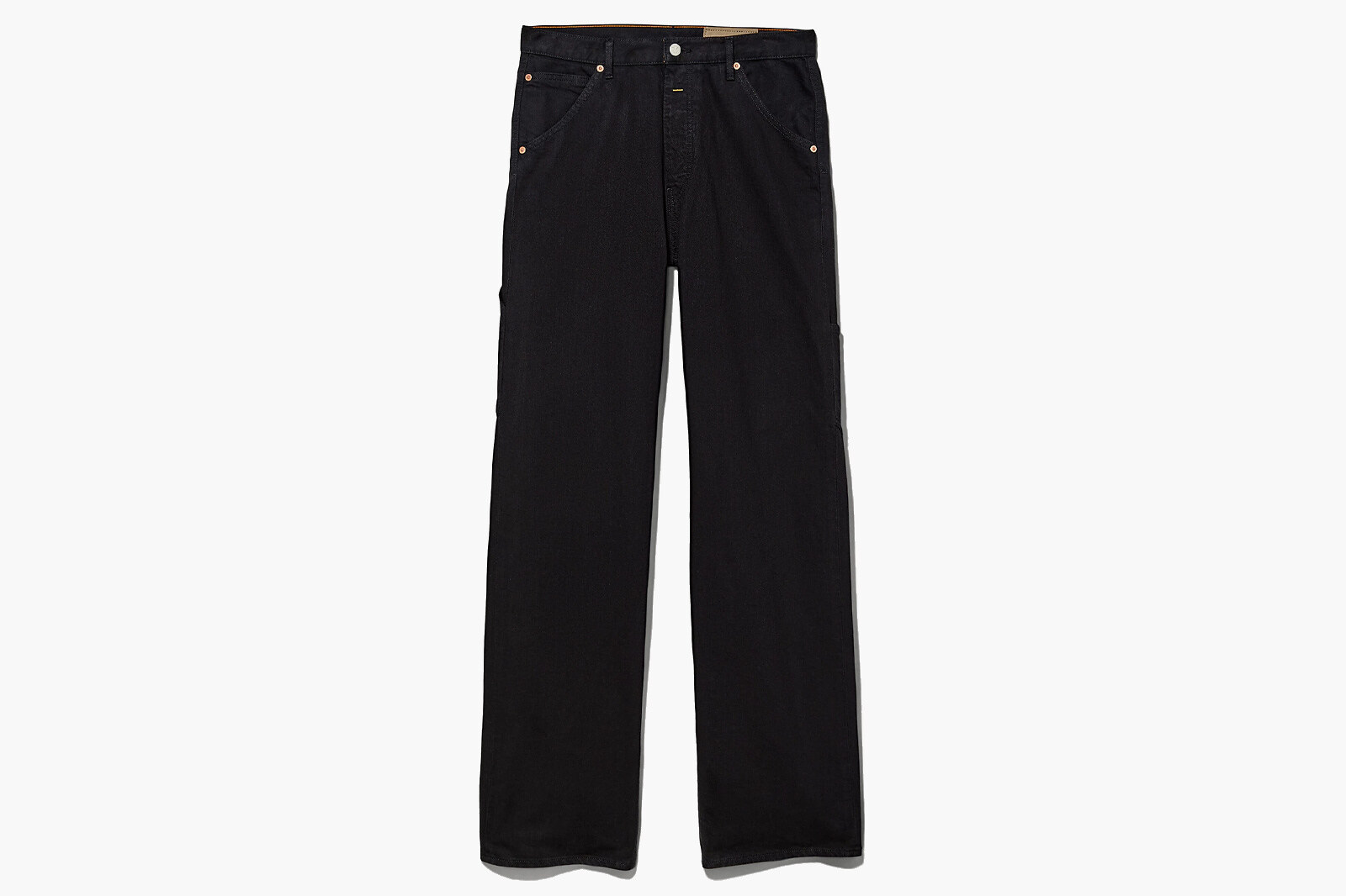Heron Preston x Calvin Klein jeans in stile tuta da lavoro