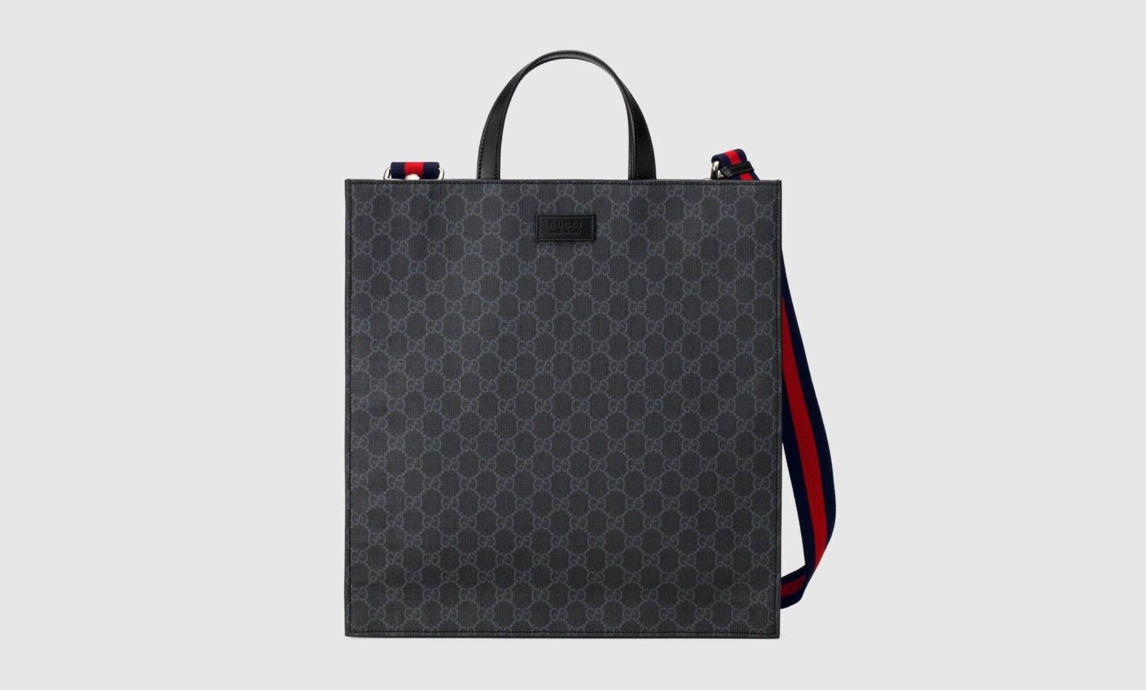 Gucci borsa shopping GG black