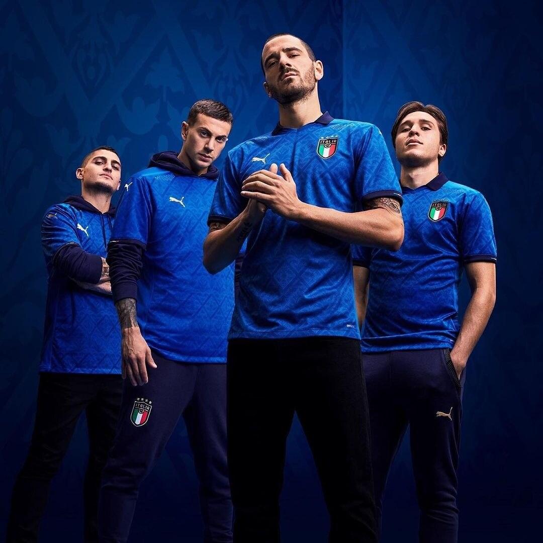 Italia Home Kit Euro 2020