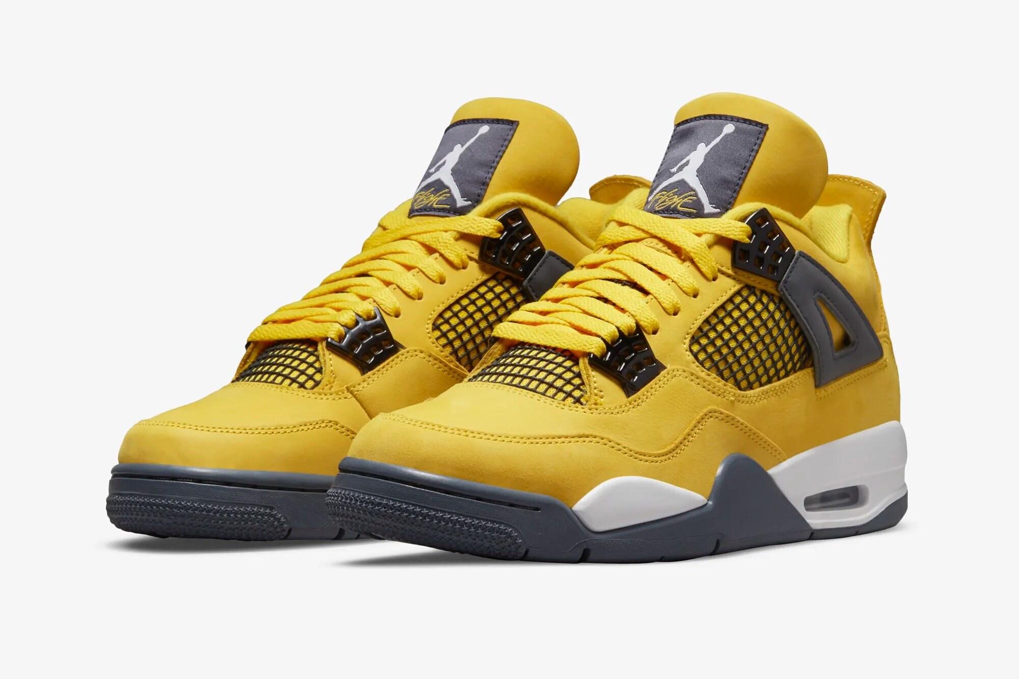 Air Jordan 4 Tour Yellow