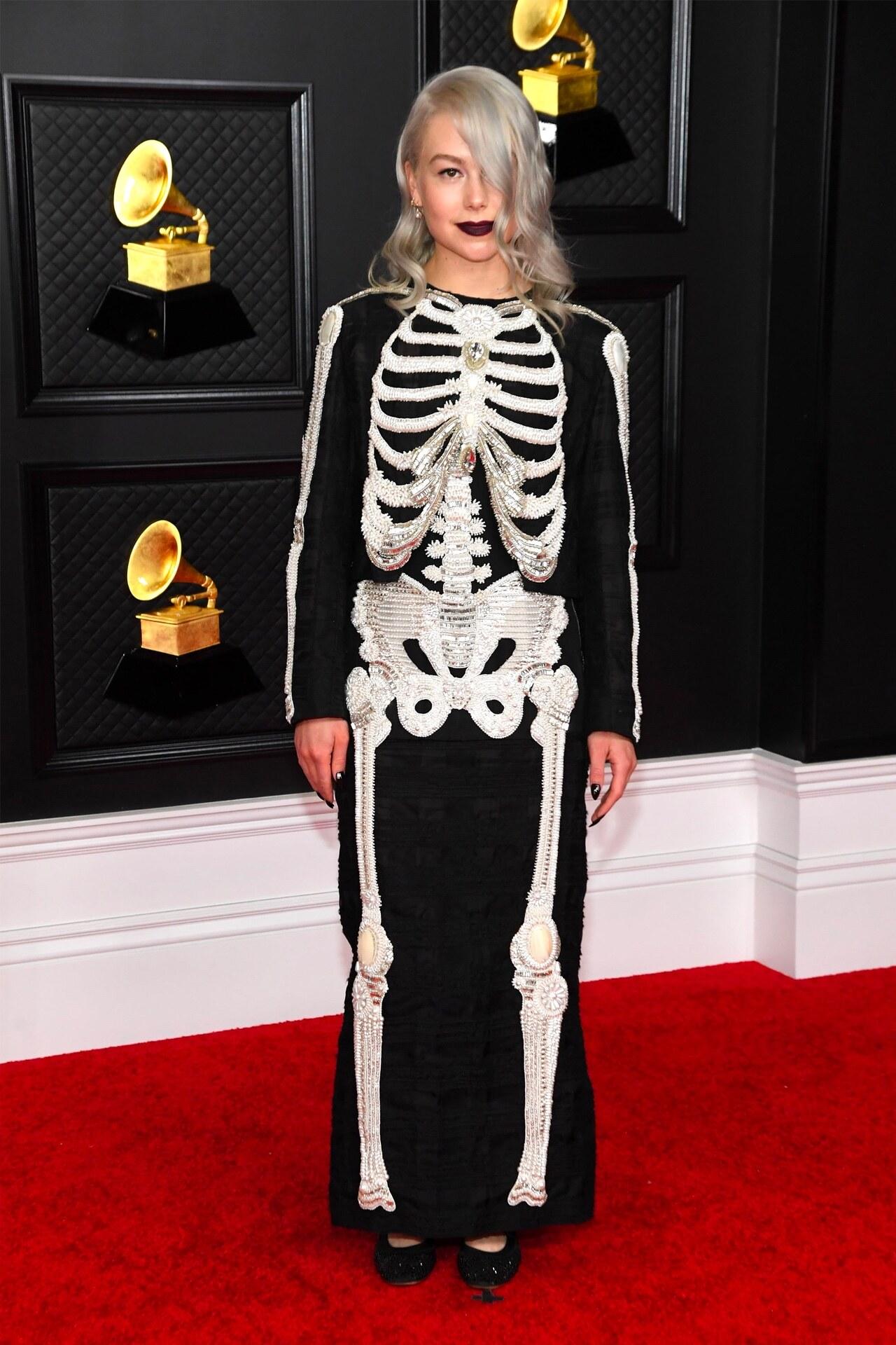 Phoebe Bridgers Grammy 2021 Thom Browne