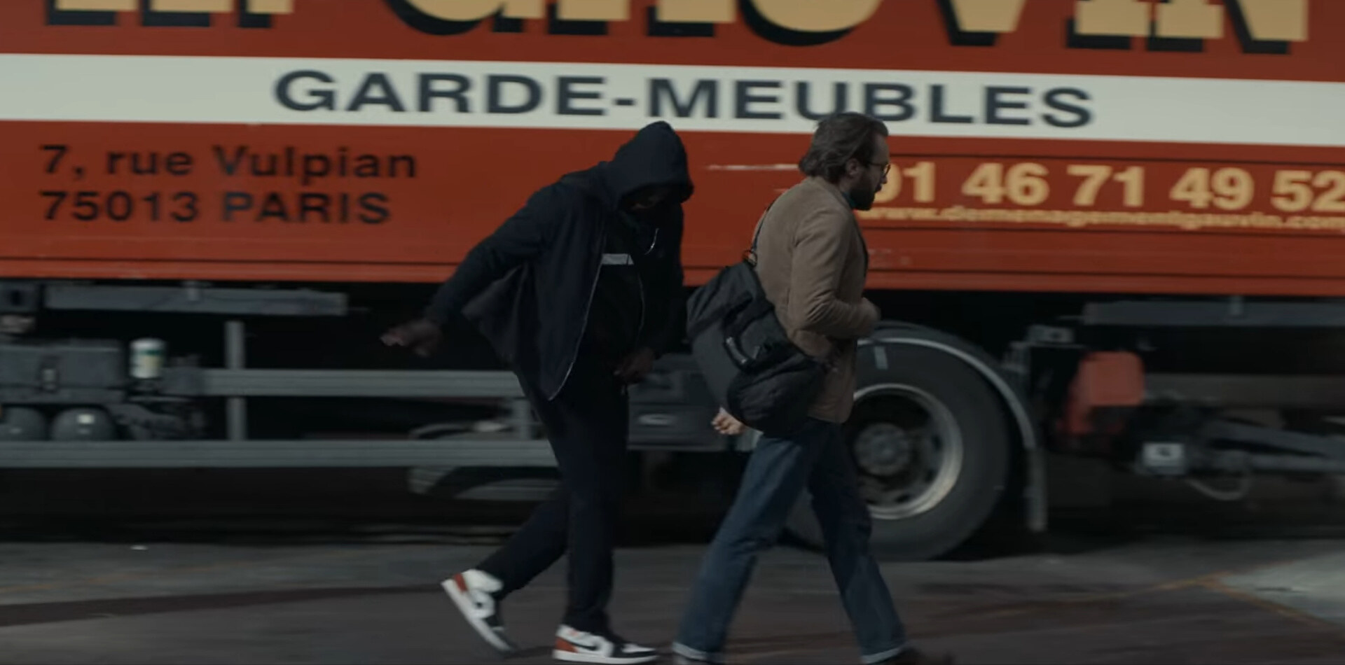Lupin Netflix Parte 2 Air Jordan 1 Mid Union Black Toe