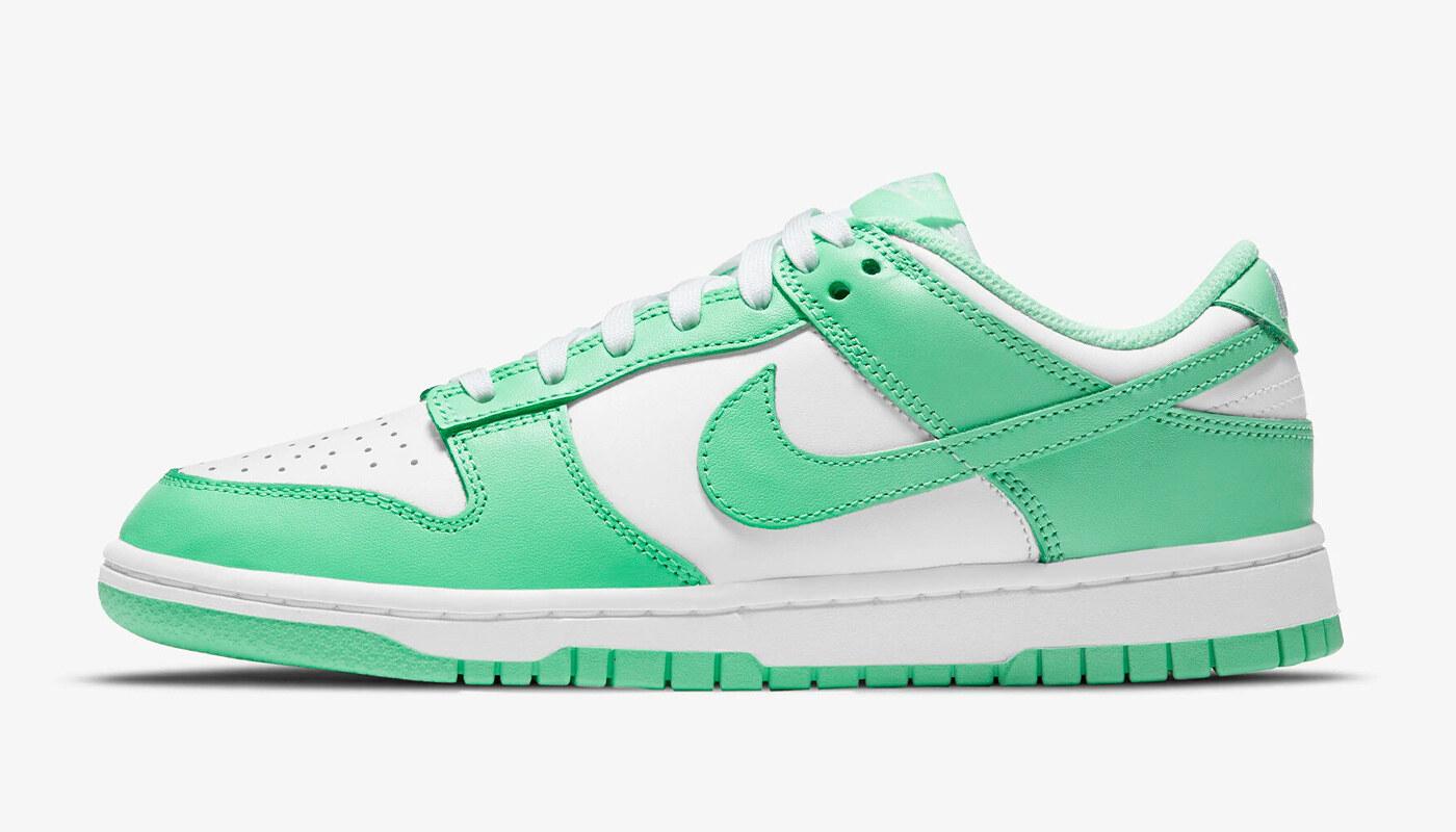 Nike Dunk Low Green Glow