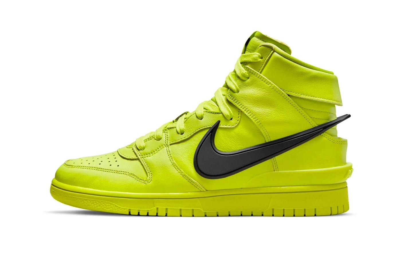 Ambush x Nike Dunk High Flash Lime