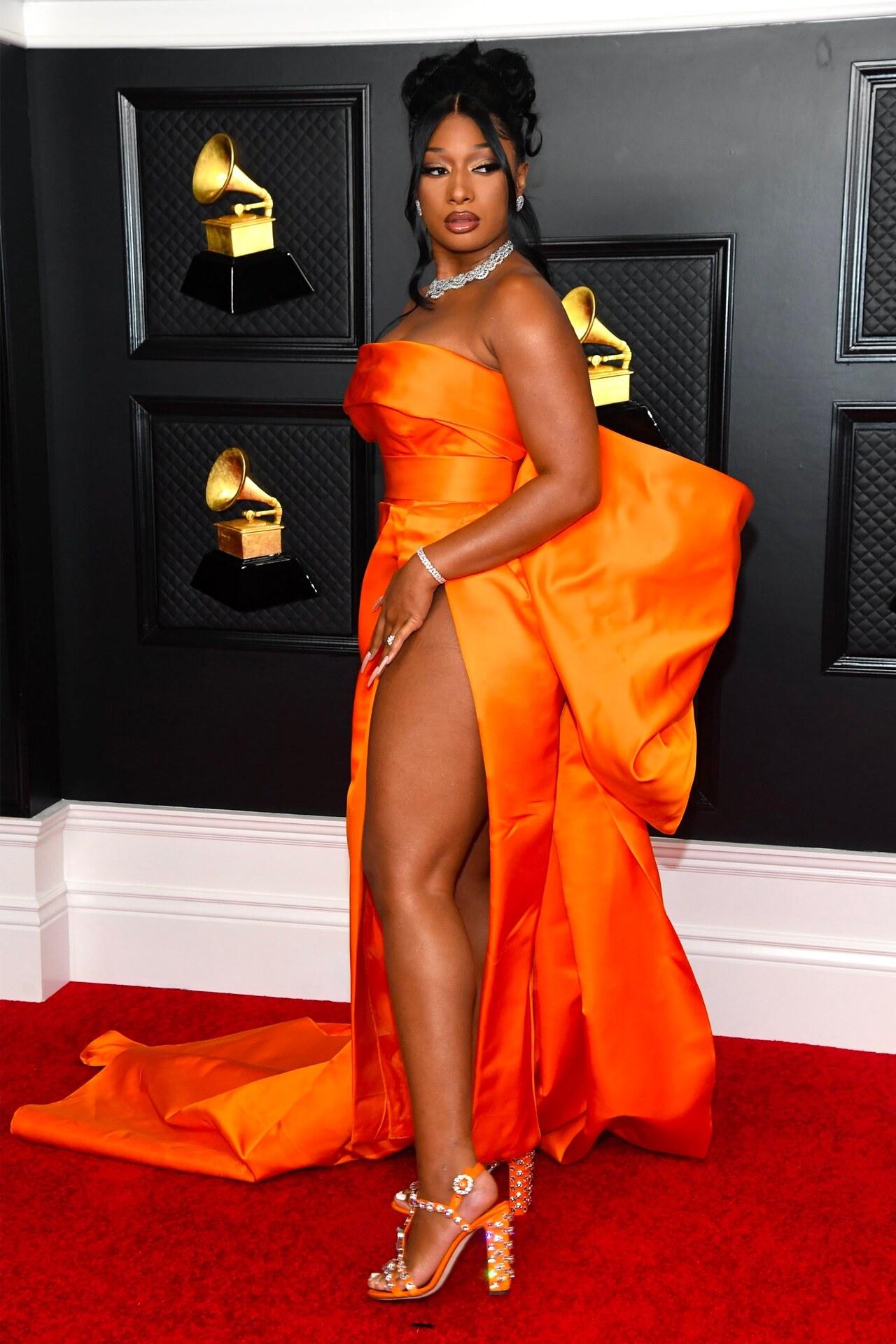 Megan Thee Stallion Grammy 2021 Dolce & Gabbana