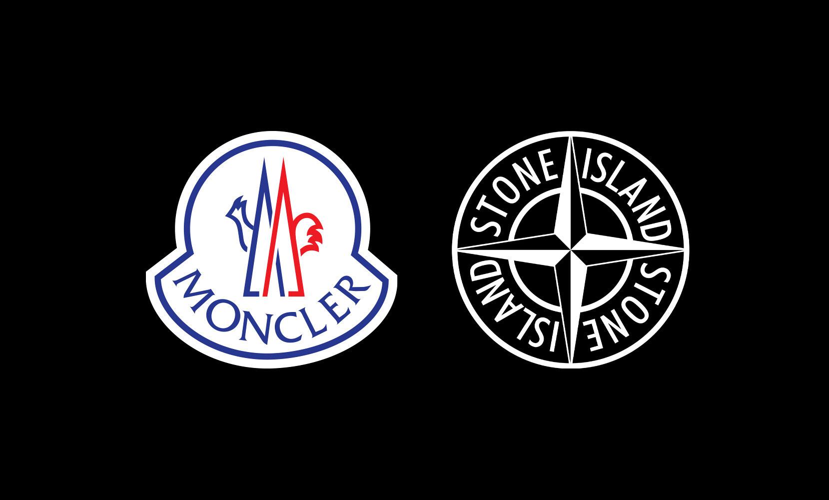 moncler stone island logo