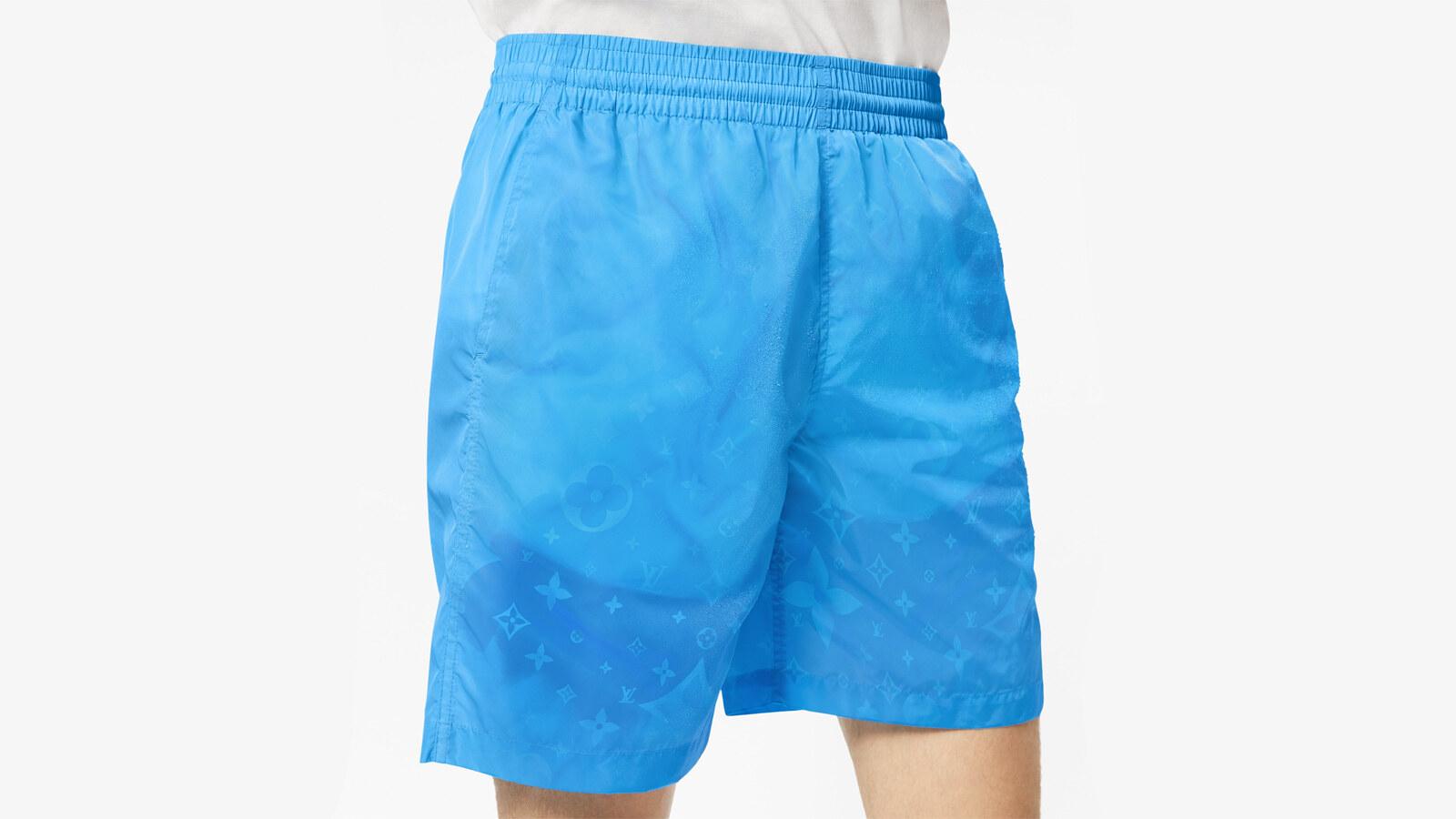 Louis Vuitton shorts da surf con motivo monogram Water