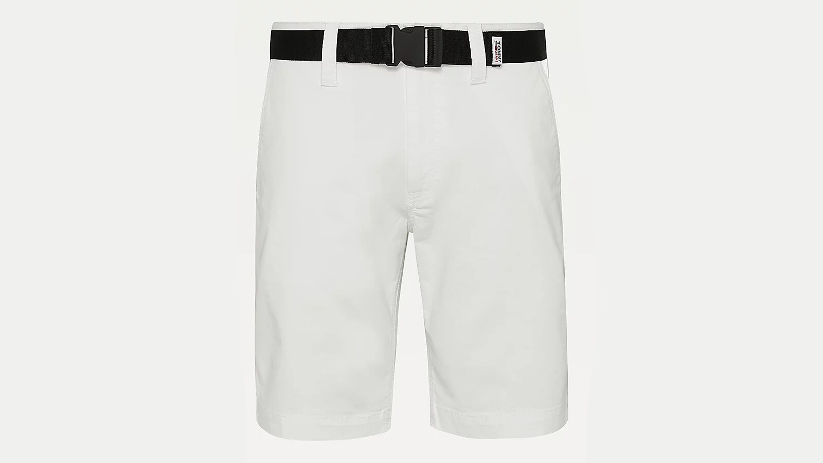 Tommy Jeans - shorts straight fit con cintura