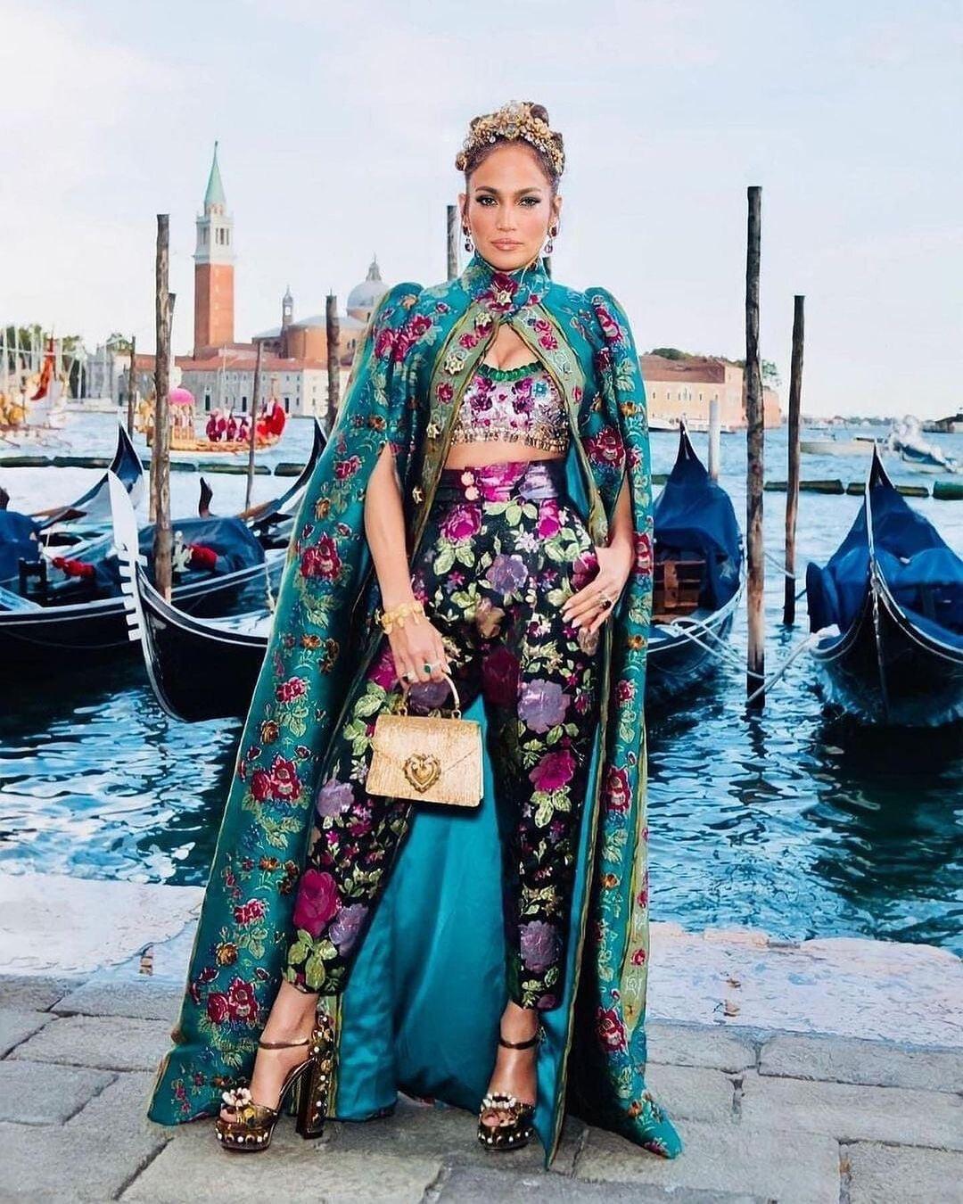 Jennifer Lopez Dolce & Gabbana Venezia
