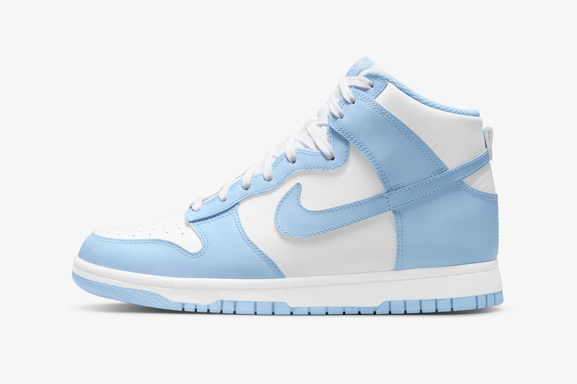 """Nike Dunk High """"Aluminium"""""""