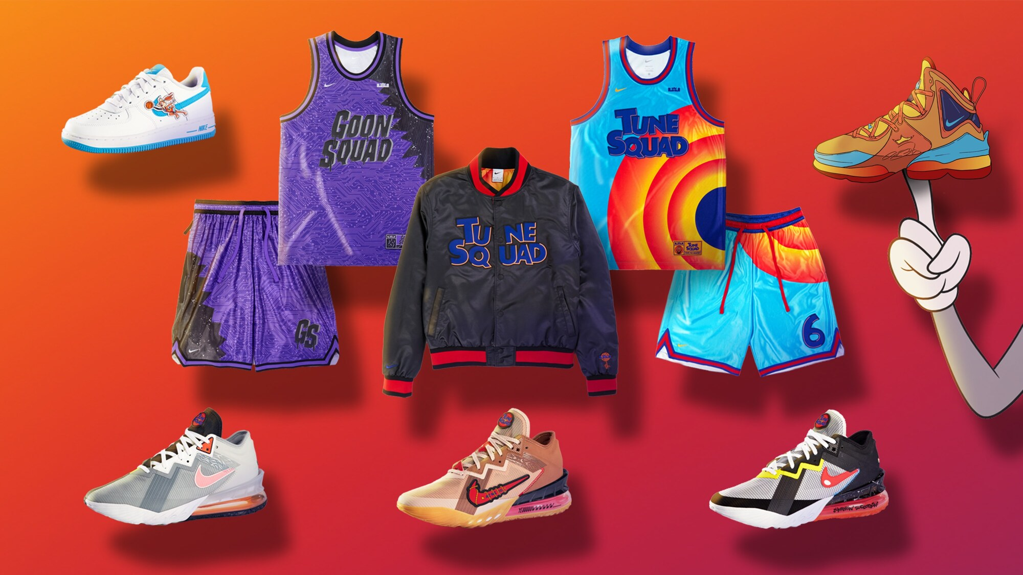 Nike Collezione Space Jam: A New Legacy