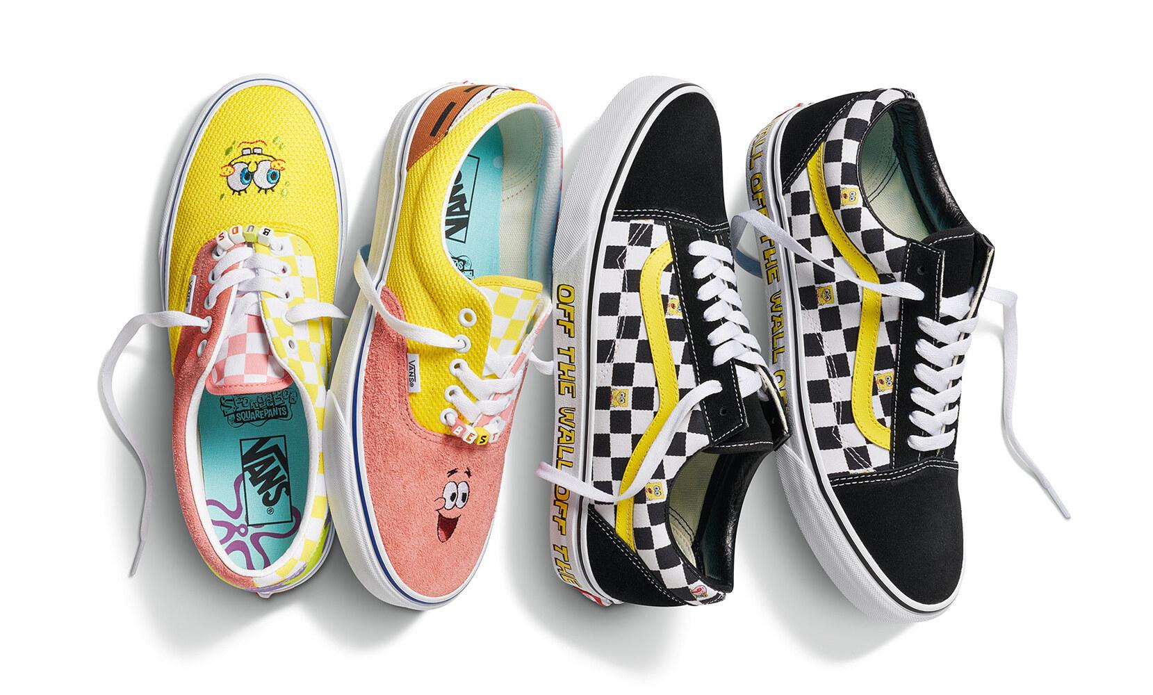Vans x Nickelodeon SpongeBob Sandy Liang