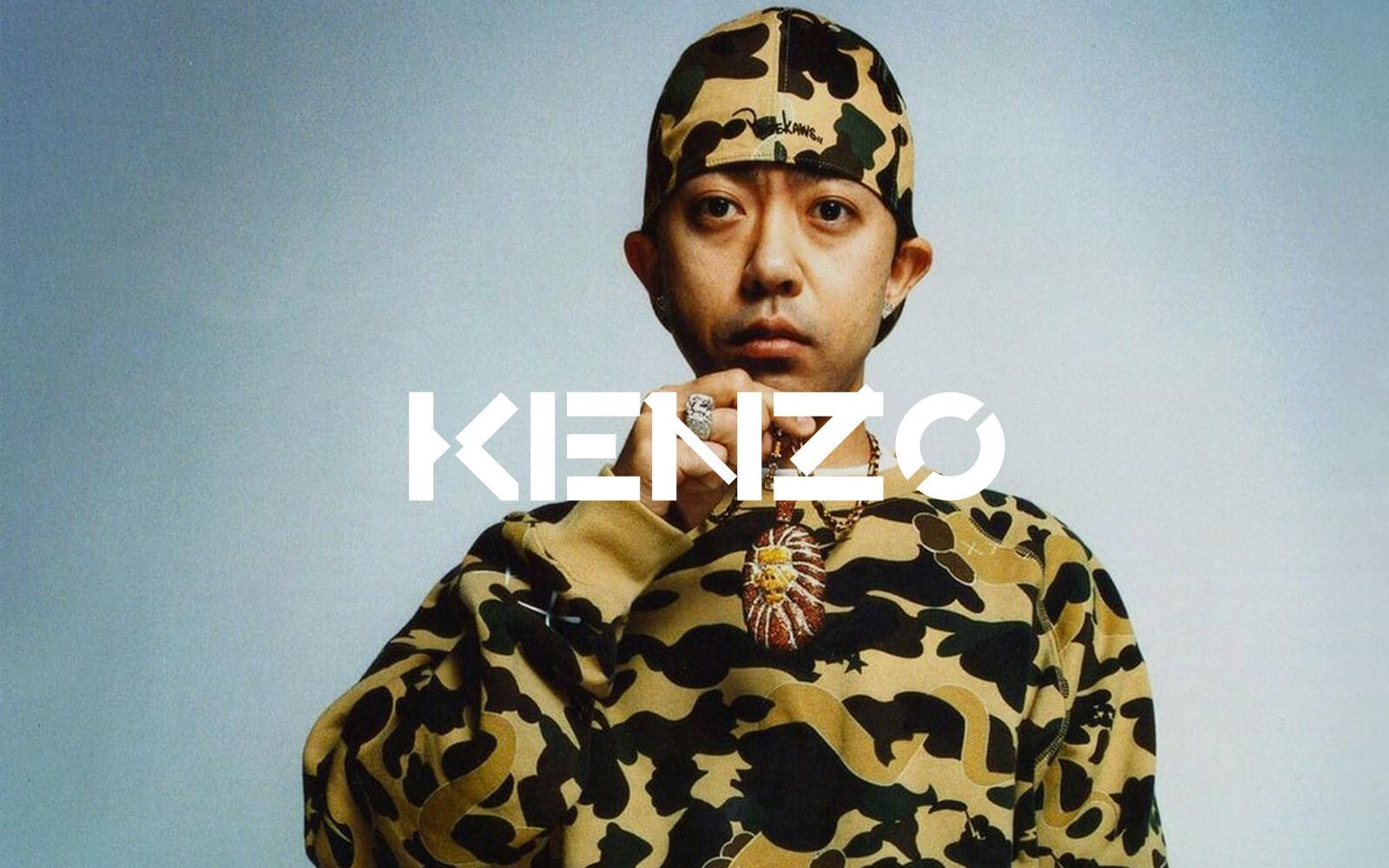 Nigo at Kenzo